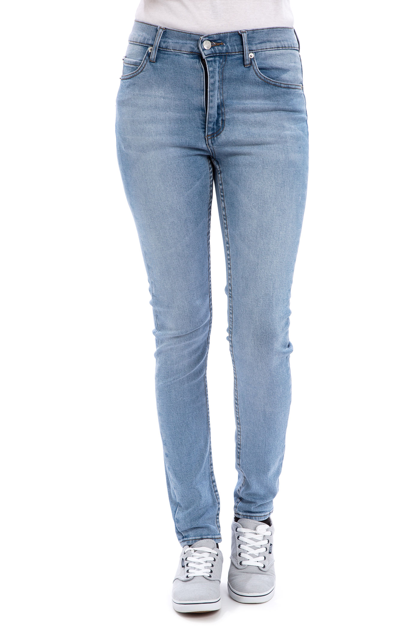 Cheap Monday Second Skin Jeans women (stonewash blue) buy at ...