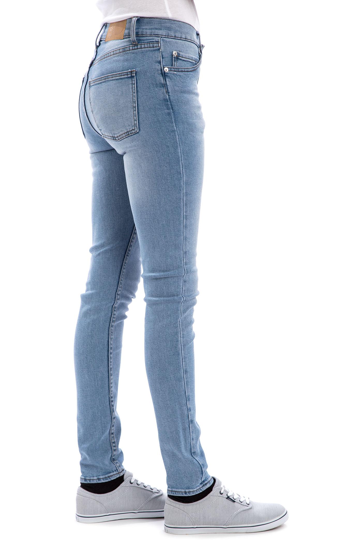 Slimming Faux Jeans Leggings