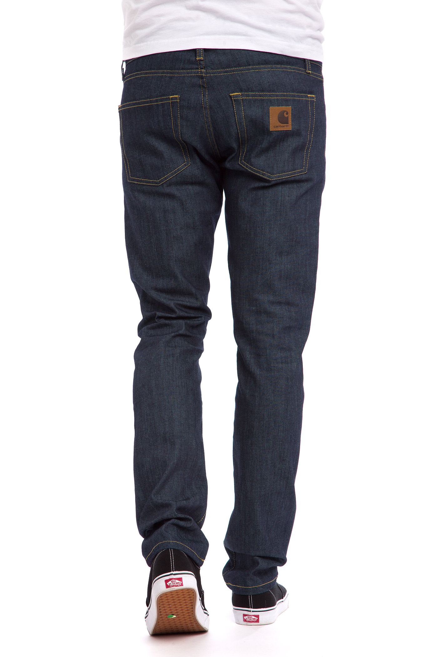 carhartt wip rebel pant colfax jeans blue rigid buy at