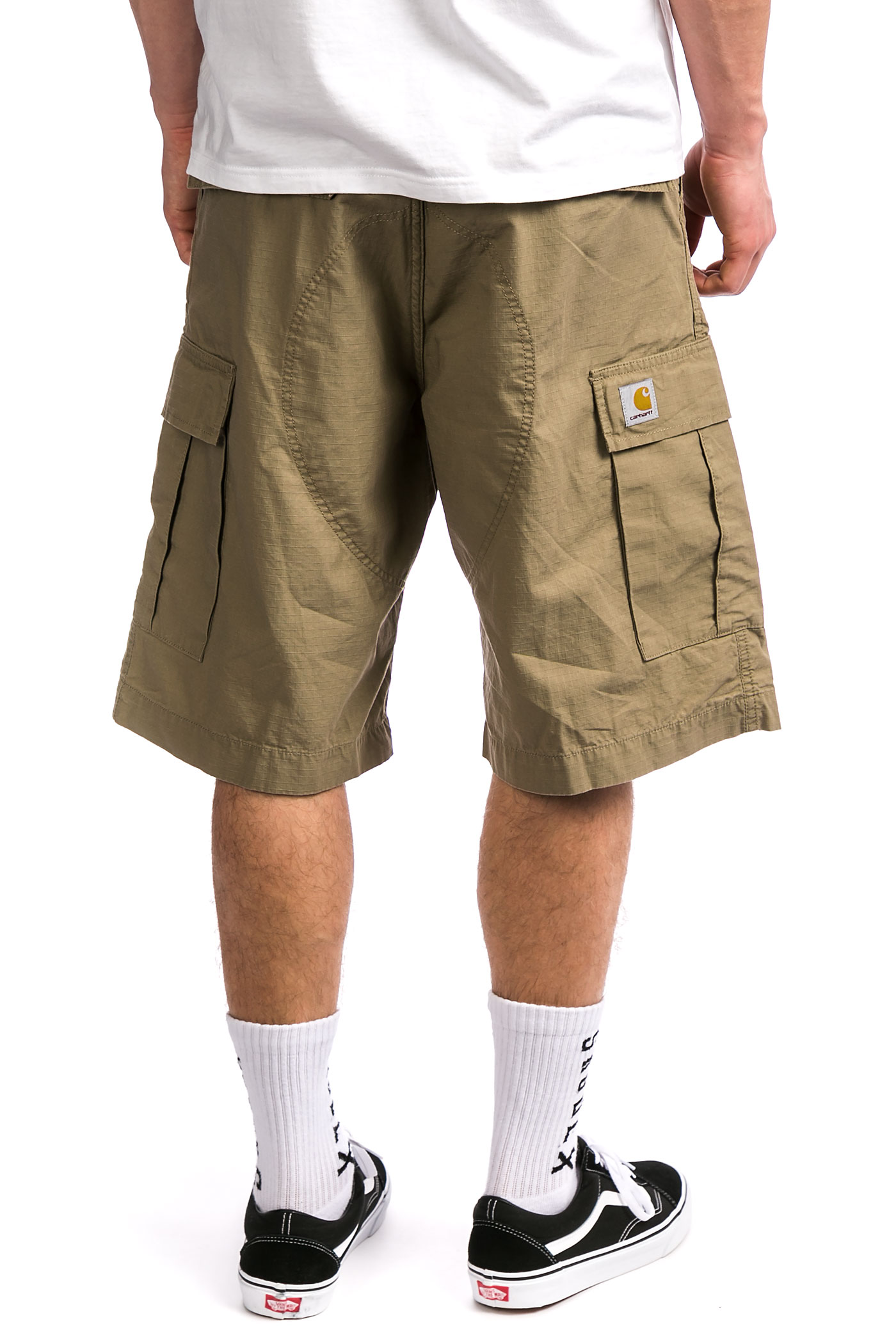 carhartt wip cargo columbia shorts leather rinsed kaufen bei skatedeluxe. Black Bedroom Furniture Sets. Home Design Ideas