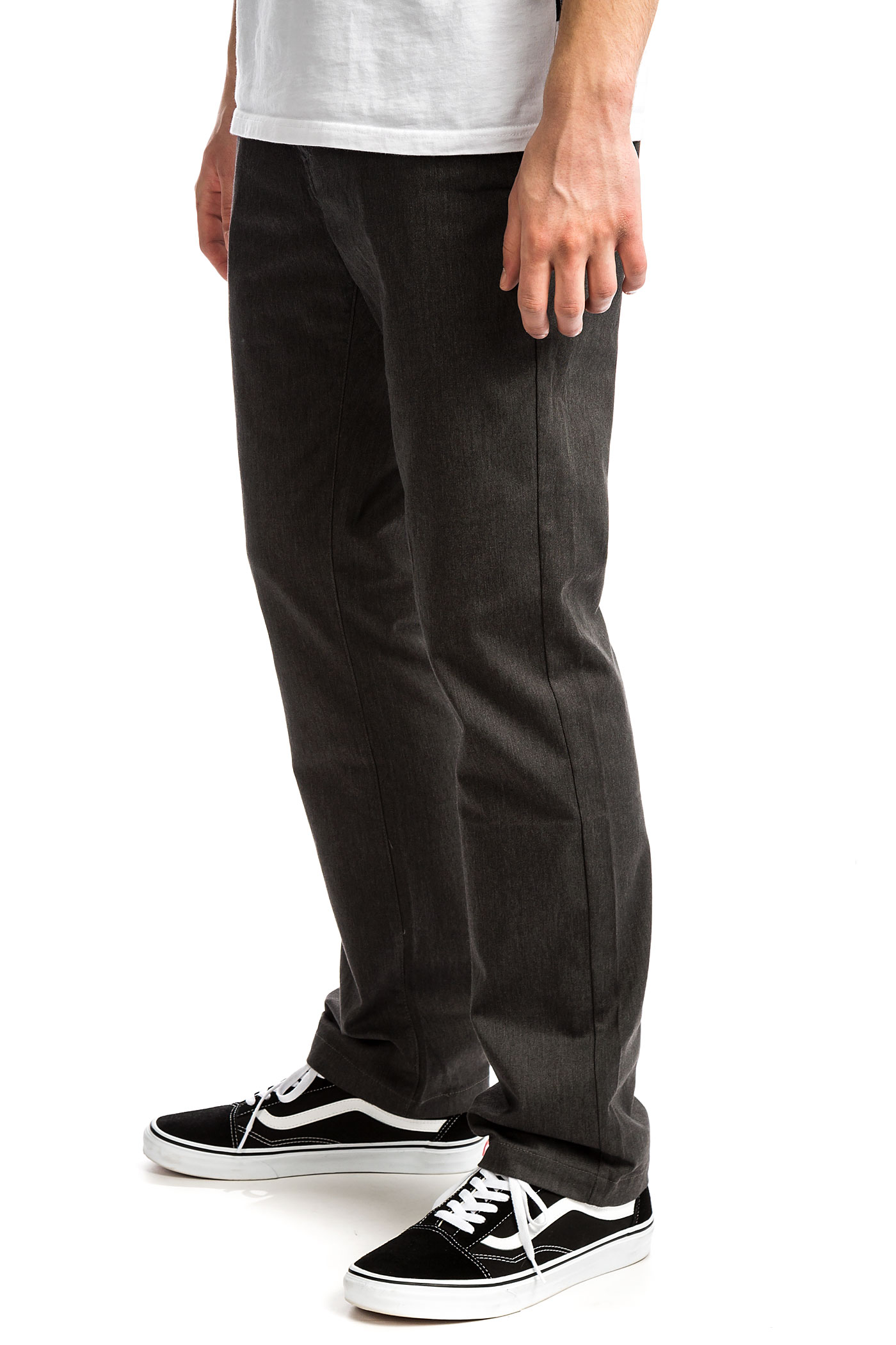 Frickin Heather Stretch Volcom Modern Pantalonscharcoal thCQsrdx
