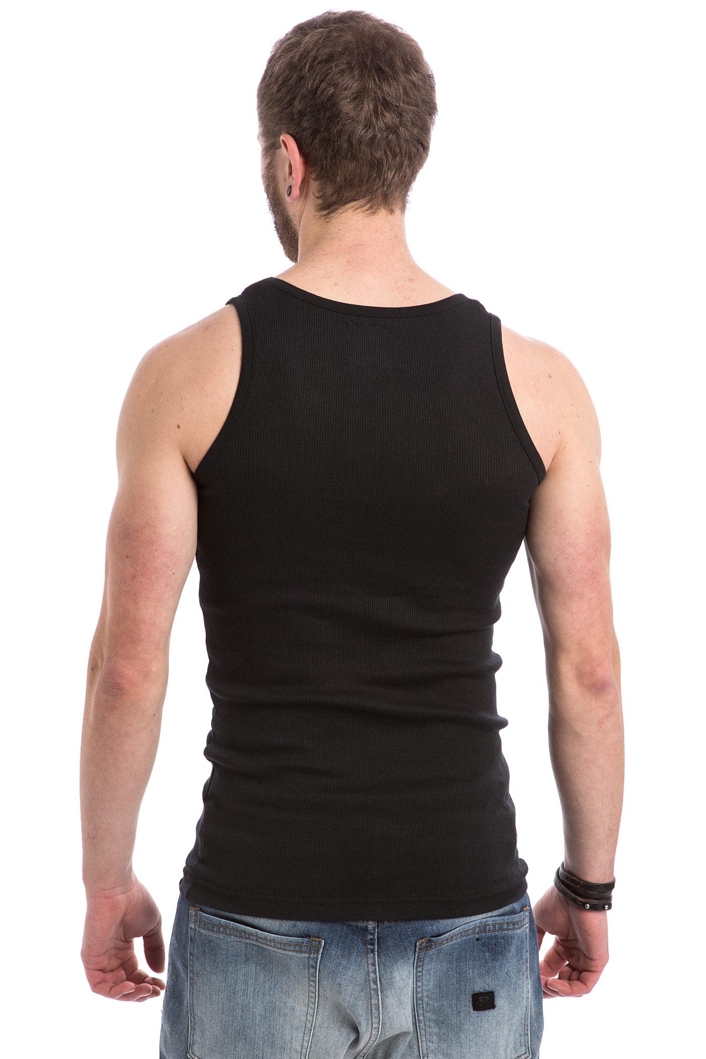 28e865806edffe Dickies Proof Tank-Top (black) 3 Pack buy at skatedeluxe
