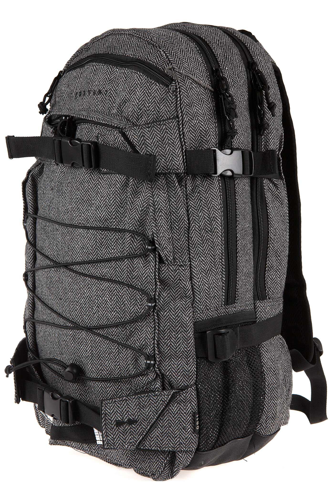 forvert new laptop louis backpack 27l flannel grey buy at skatedeluxe. Black Bedroom Furniture Sets. Home Design Ideas
