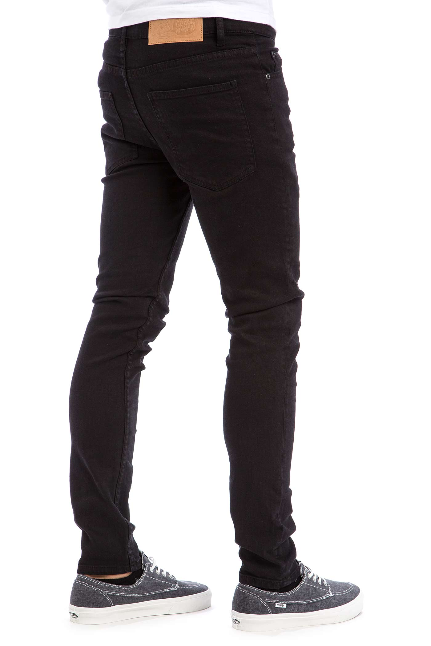 cheap monday tight jeans new black buy at skatedeluxe. Black Bedroom Furniture Sets. Home Design Ideas