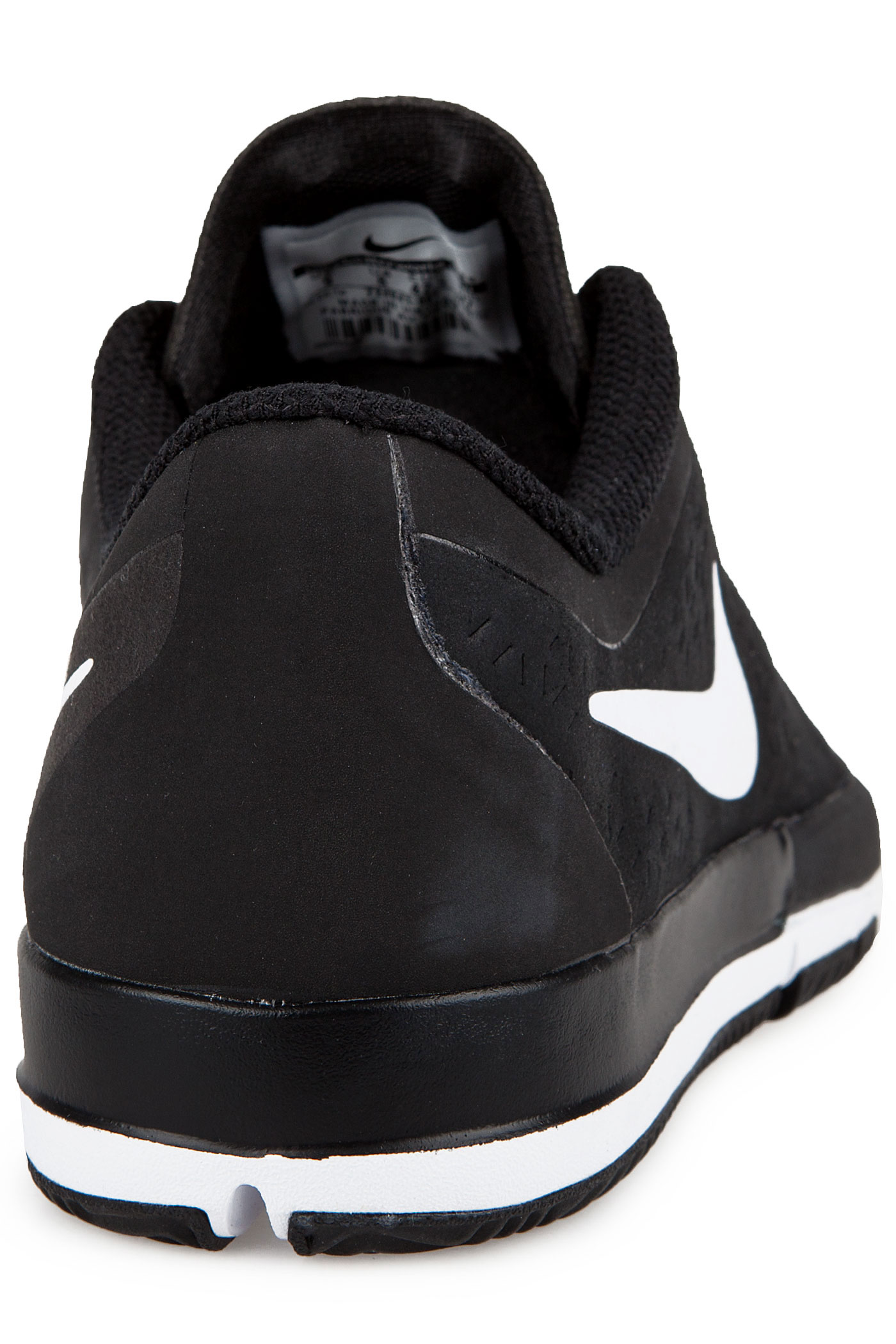 nike sb free nano chaussure black white achetez sur skatedeluxe. Black Bedroom Furniture Sets. Home Design Ideas