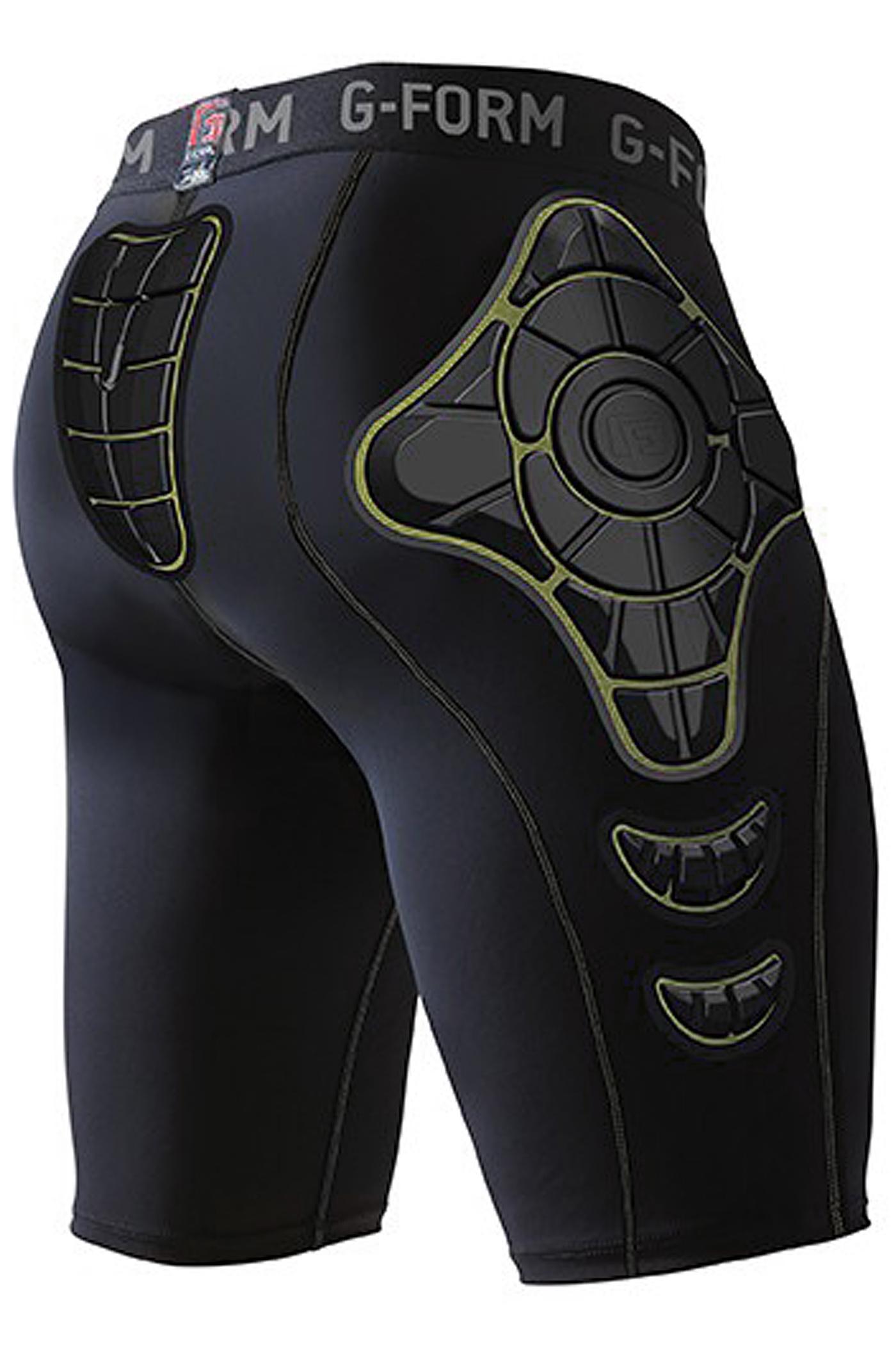 G-Form Pro-X Compression Crash Pants (black yellow) koop bij ...
