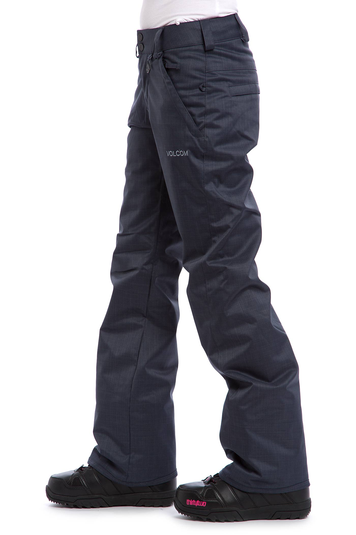 Volcom Frochickie Insulated Snowboard Pant Women Charcoal