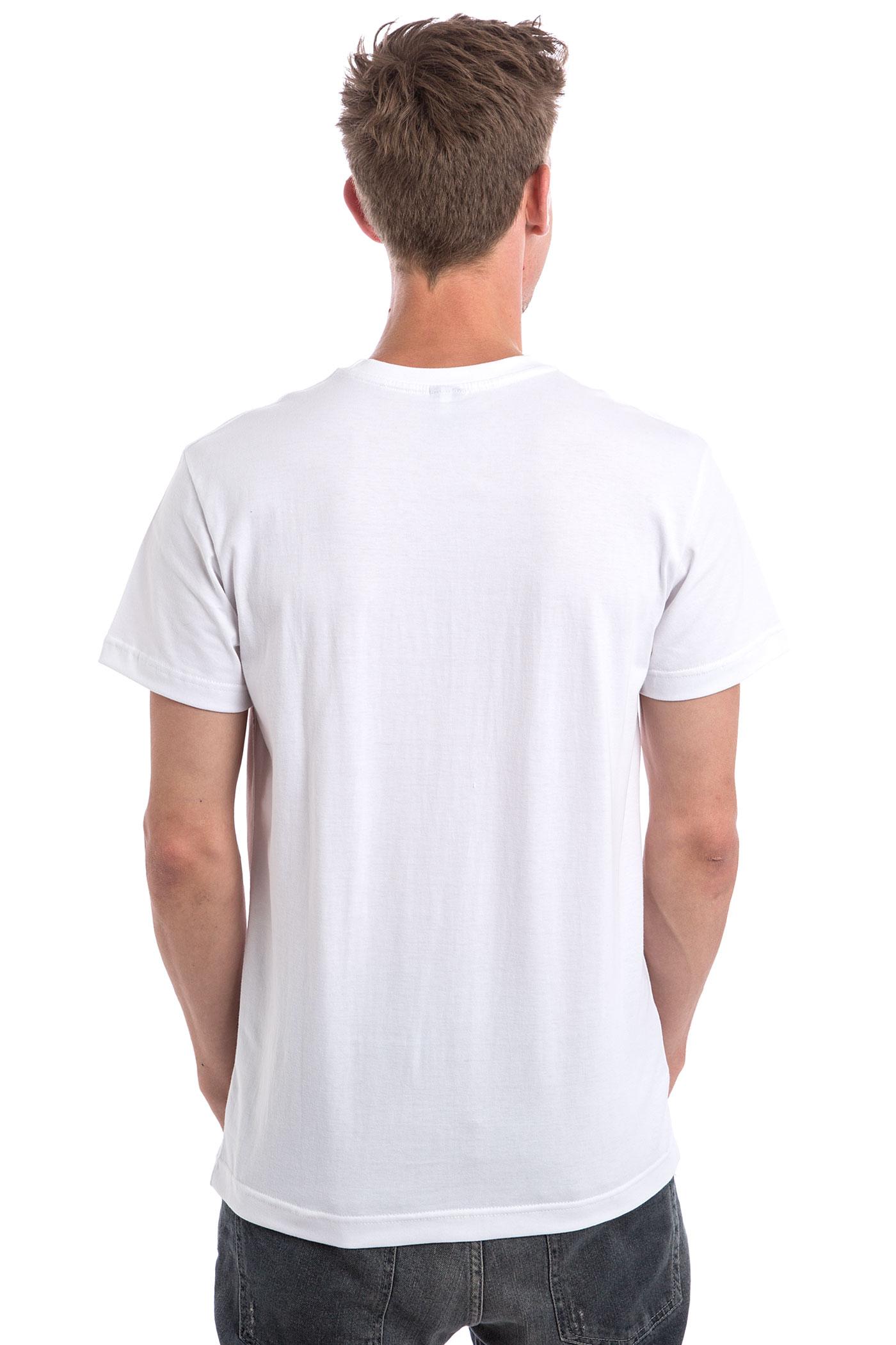 iriedaily pissizei t shirt white achetez sur skatedeluxe. Black Bedroom Furniture Sets. Home Design Ideas