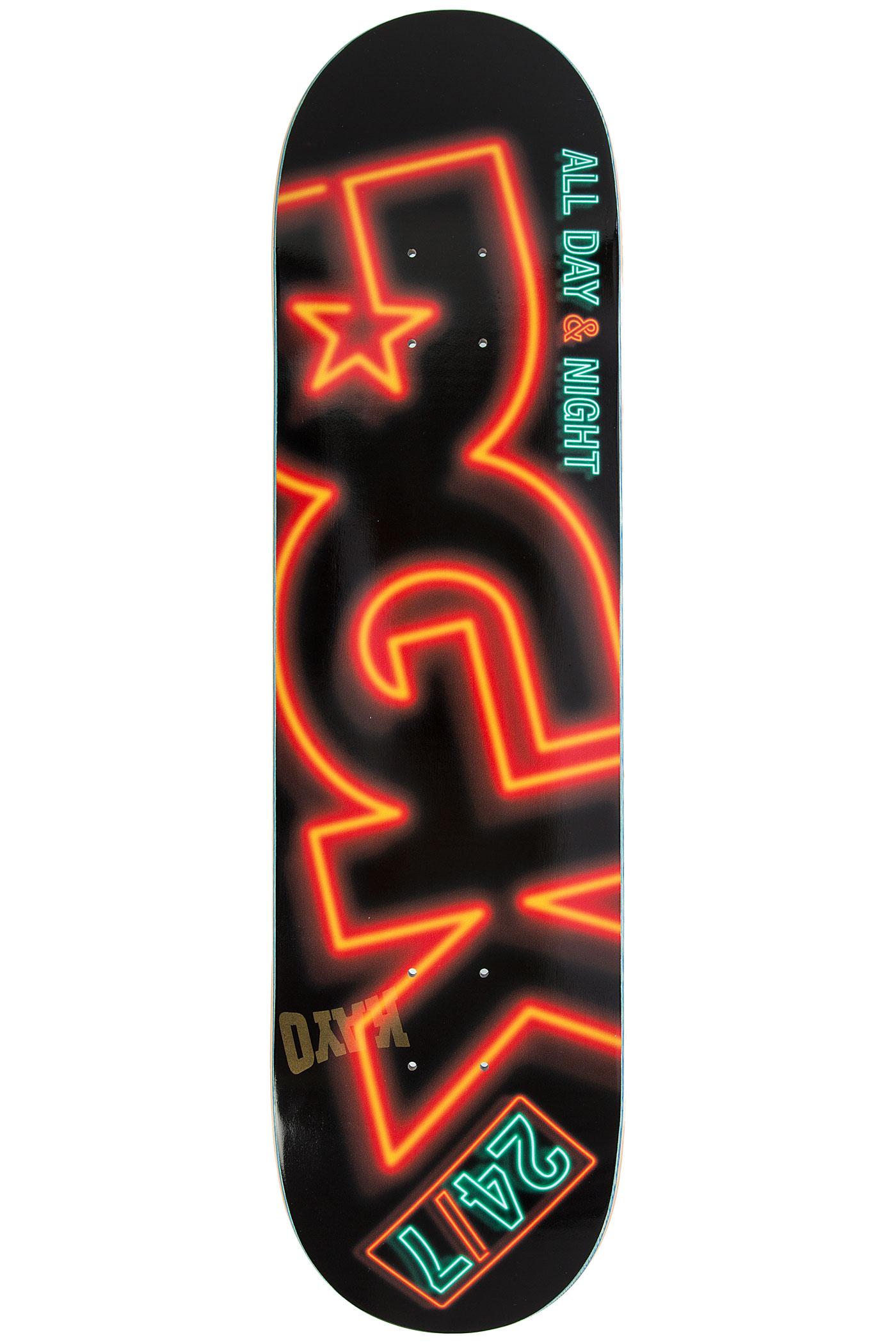 Dgk Skateboards Team 24 7 Deck Black Buy At