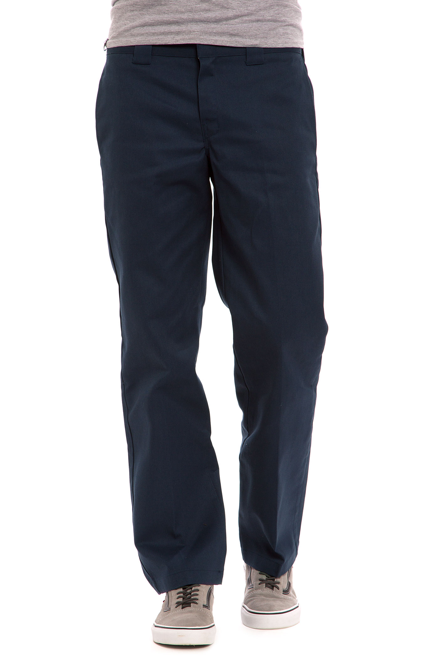 Dickies 873 Slim Straight Workpant Pants (navy blue) buy at ...