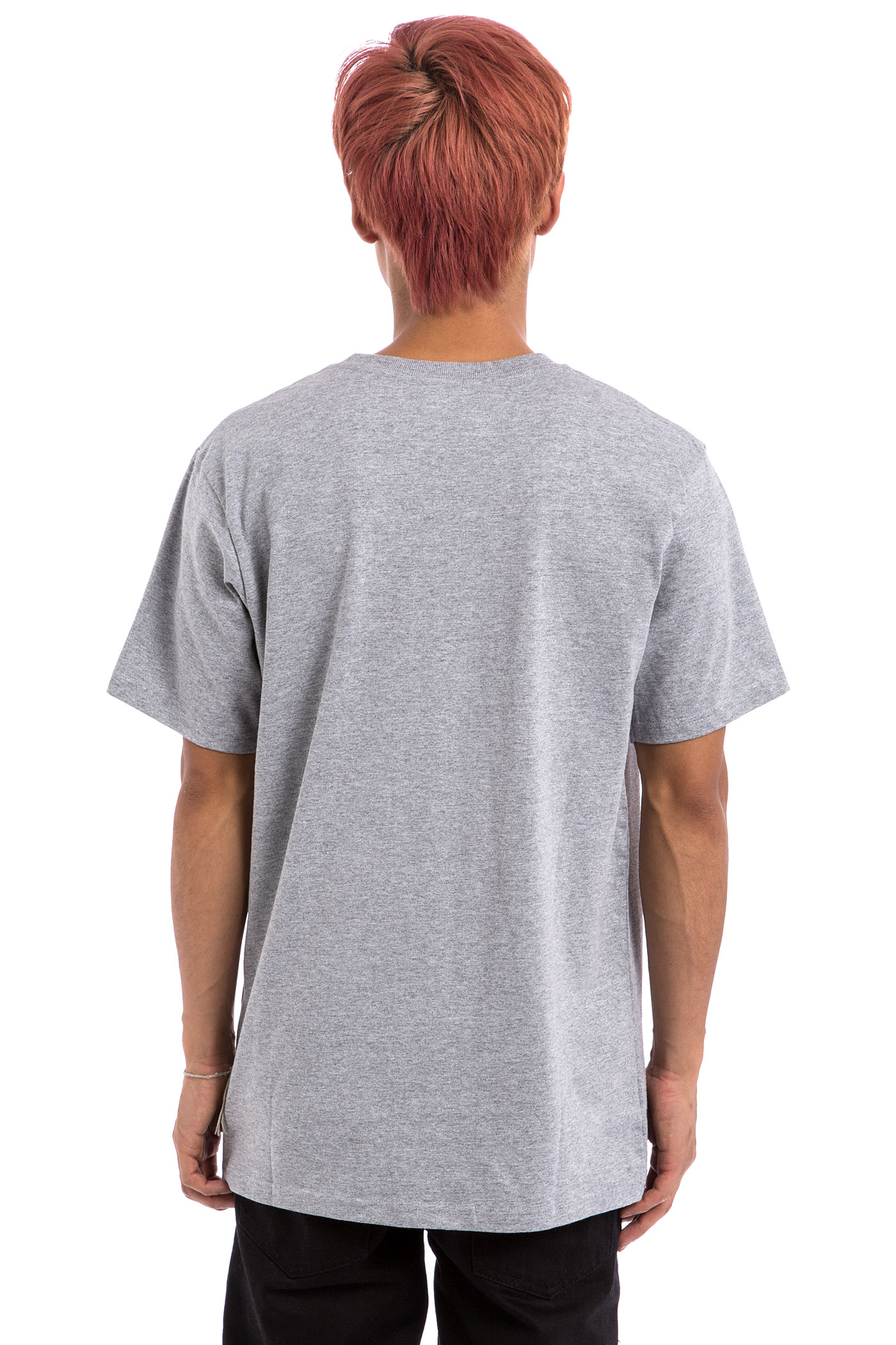 Dc Star T Shirt Heather Grey Buy At Skatedeluxe