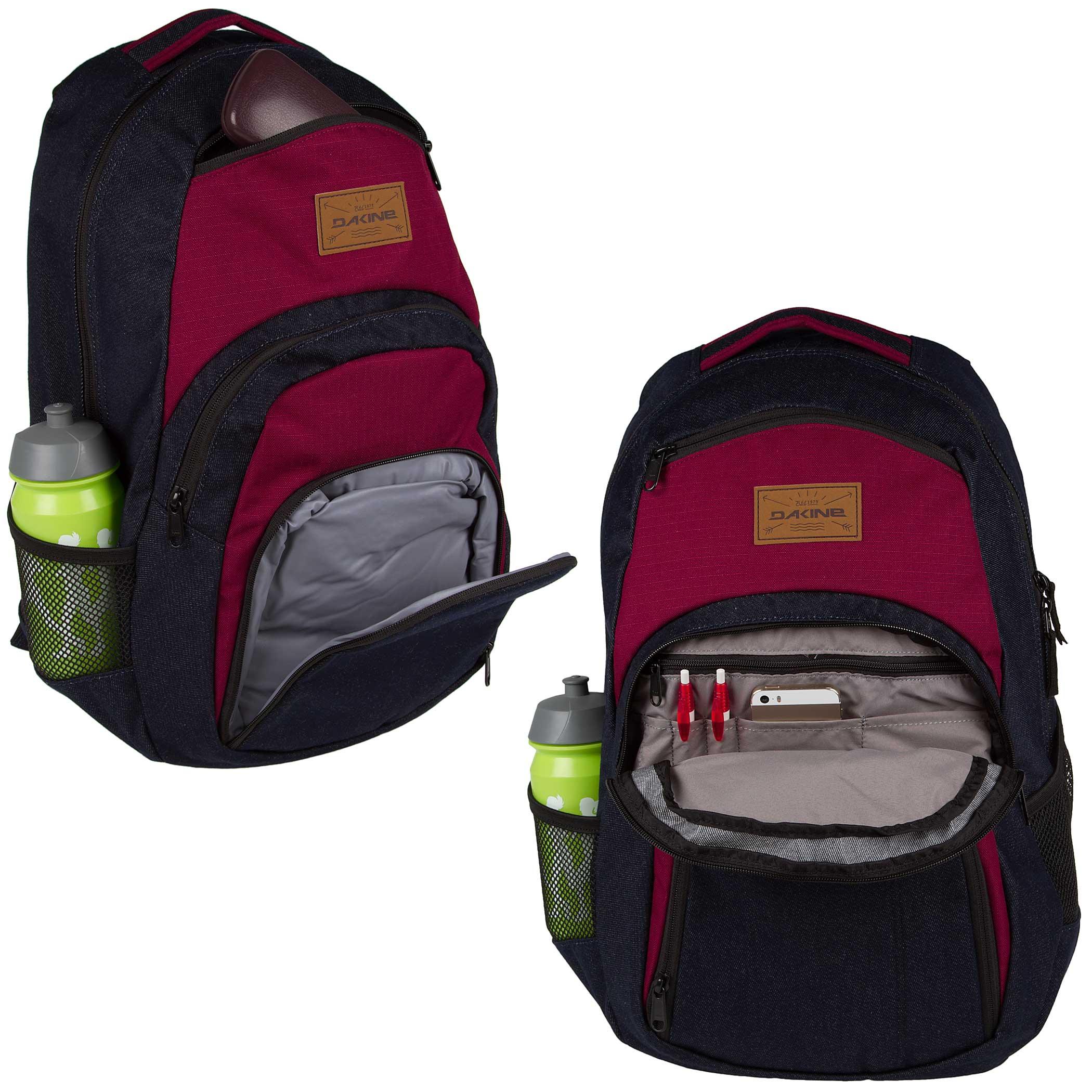 dakine campus backpack 33l denim buy at skatedeluxe. Black Bedroom Furniture Sets. Home Design Ideas