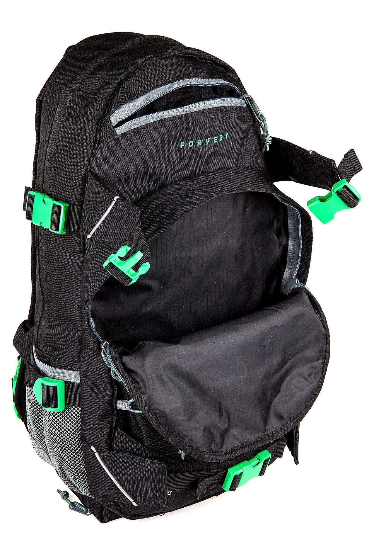 forvert ripstop louis backpack 20l black buy at skatedeluxe. Black Bedroom Furniture Sets. Home Design Ideas