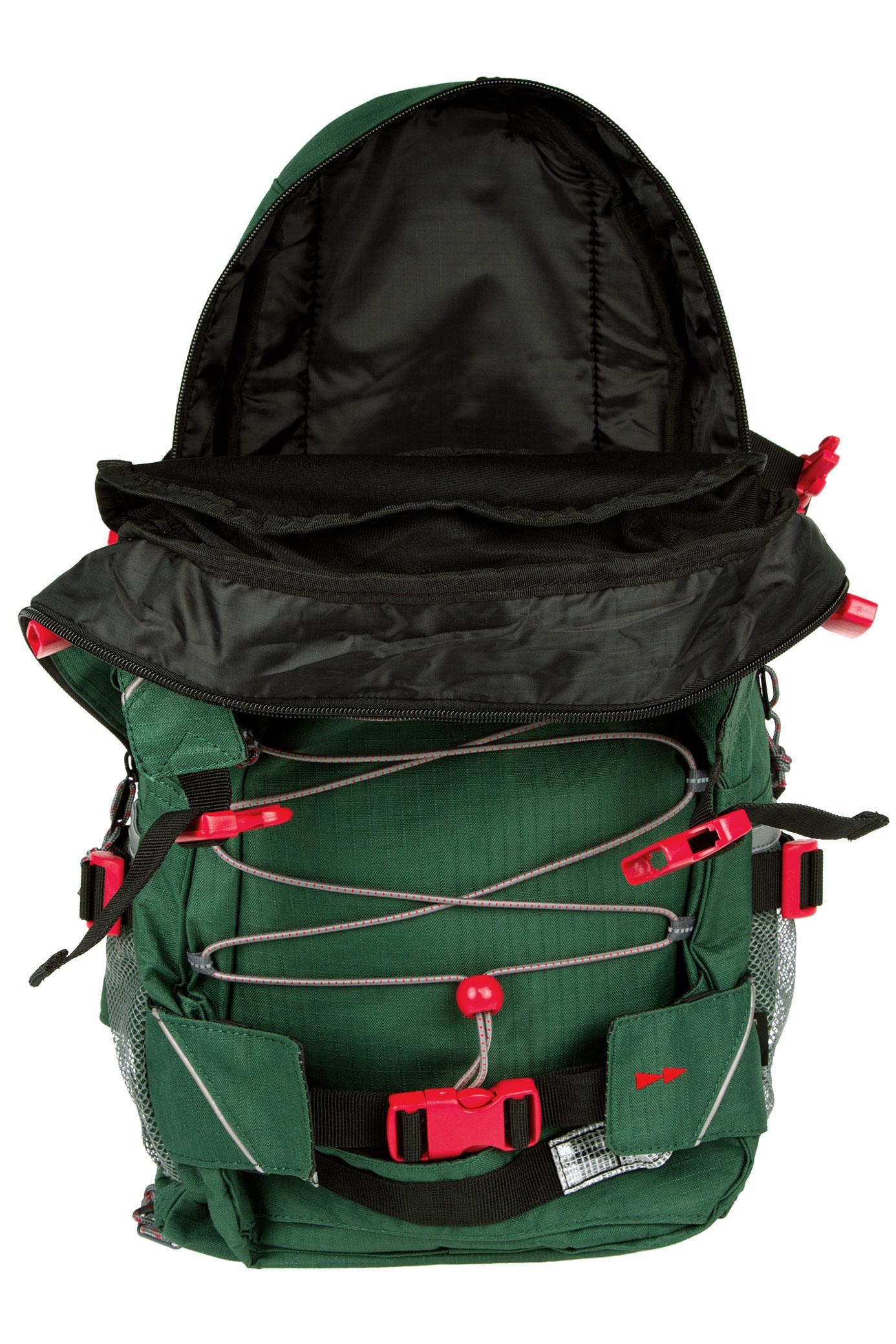 forvert ripstop louis backpack 20l green buy at skatedeluxe. Black Bedroom Furniture Sets. Home Design Ideas