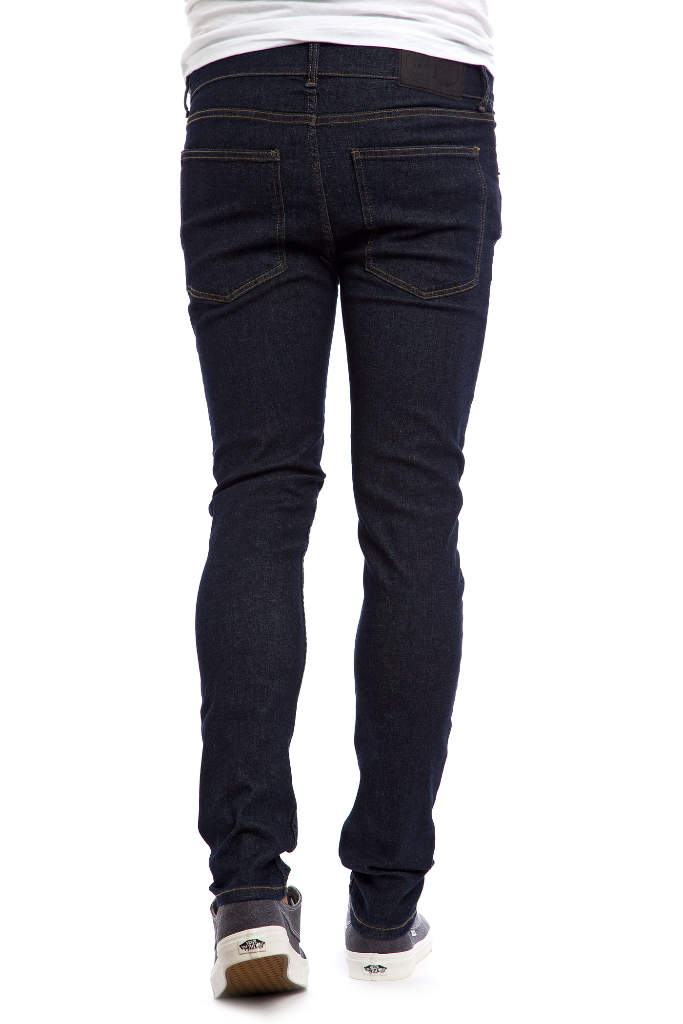 cheap monday tight jeans real blue buy at skatedeluxe. Black Bedroom Furniture Sets. Home Design Ideas