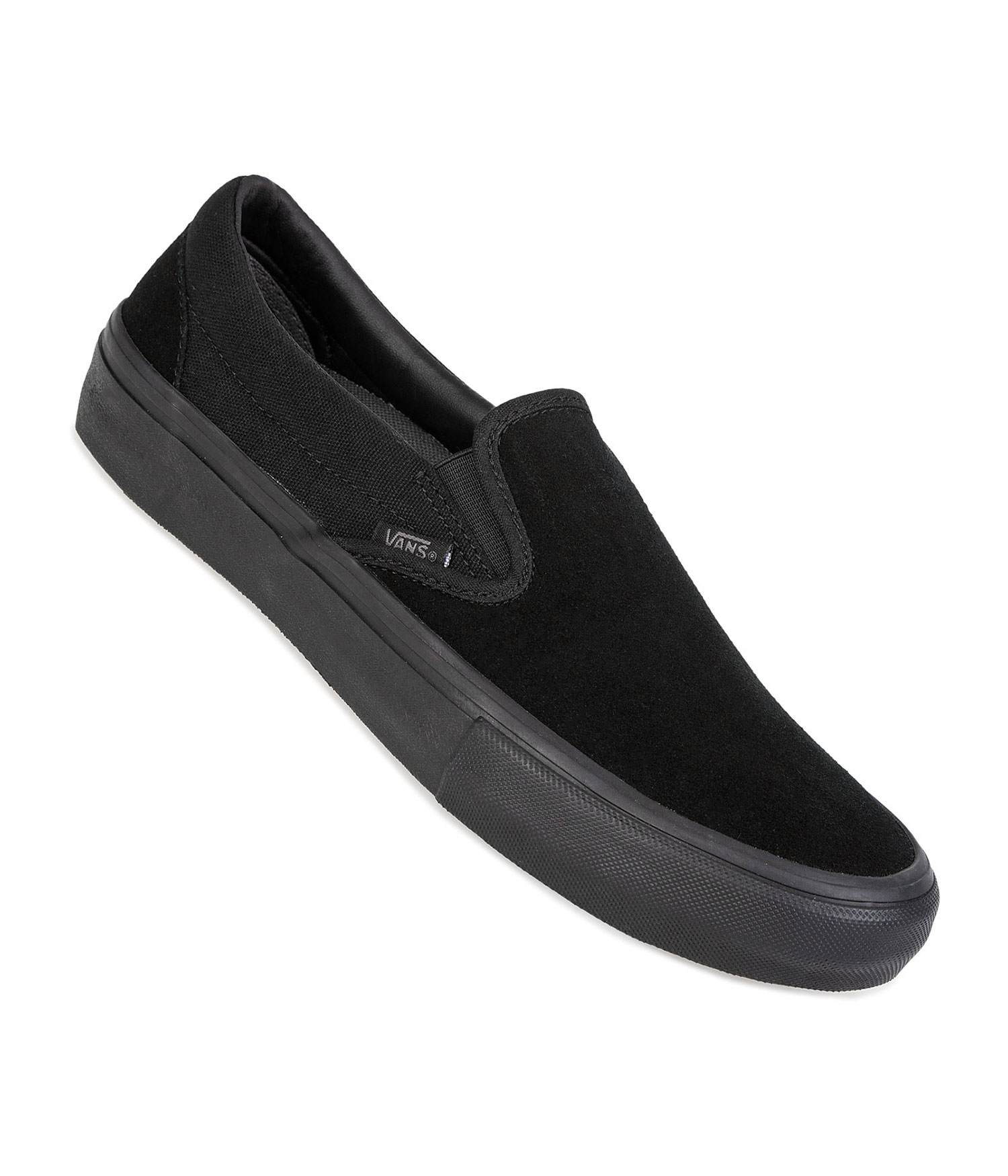 vans slip on pro chaussure blackout achetez sur skatedeluxe. Black Bedroom Furniture Sets. Home Design Ideas