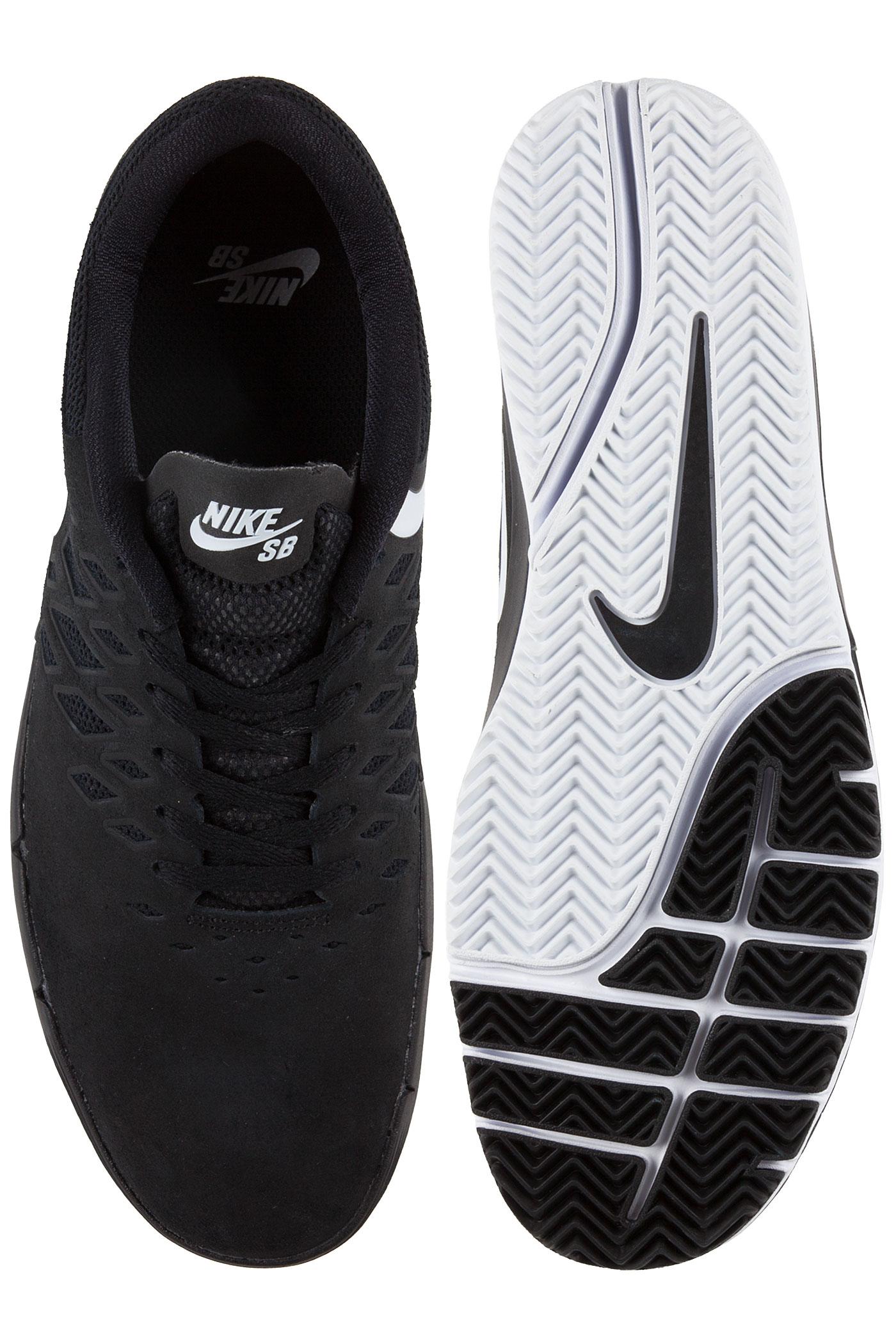 nike sb free chaussure black white achetez sur skatedeluxe. Black Bedroom Furniture Sets. Home Design Ideas