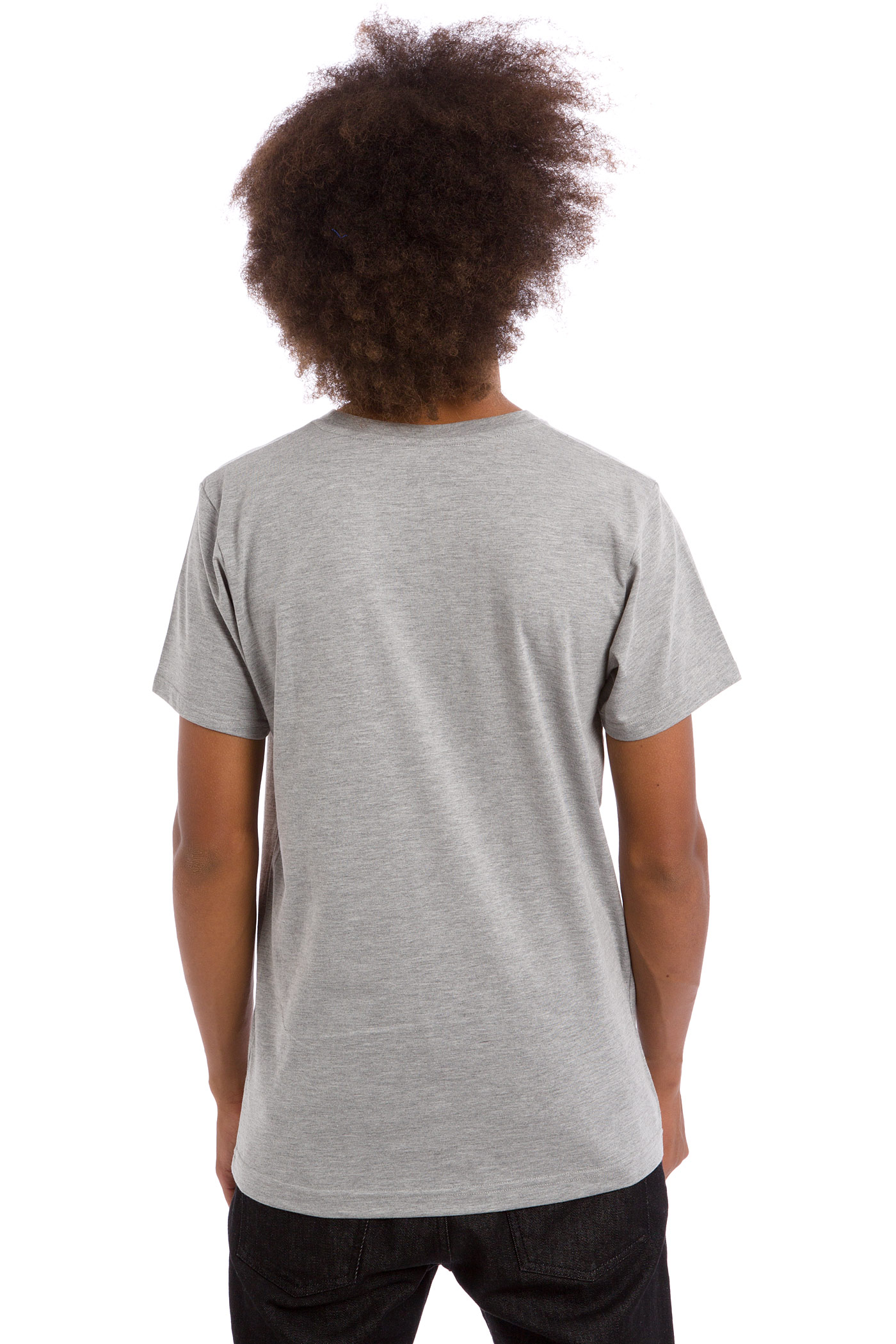 Sk8dlx Racer T Shirt Heather Grey Buy At Skatedeluxe