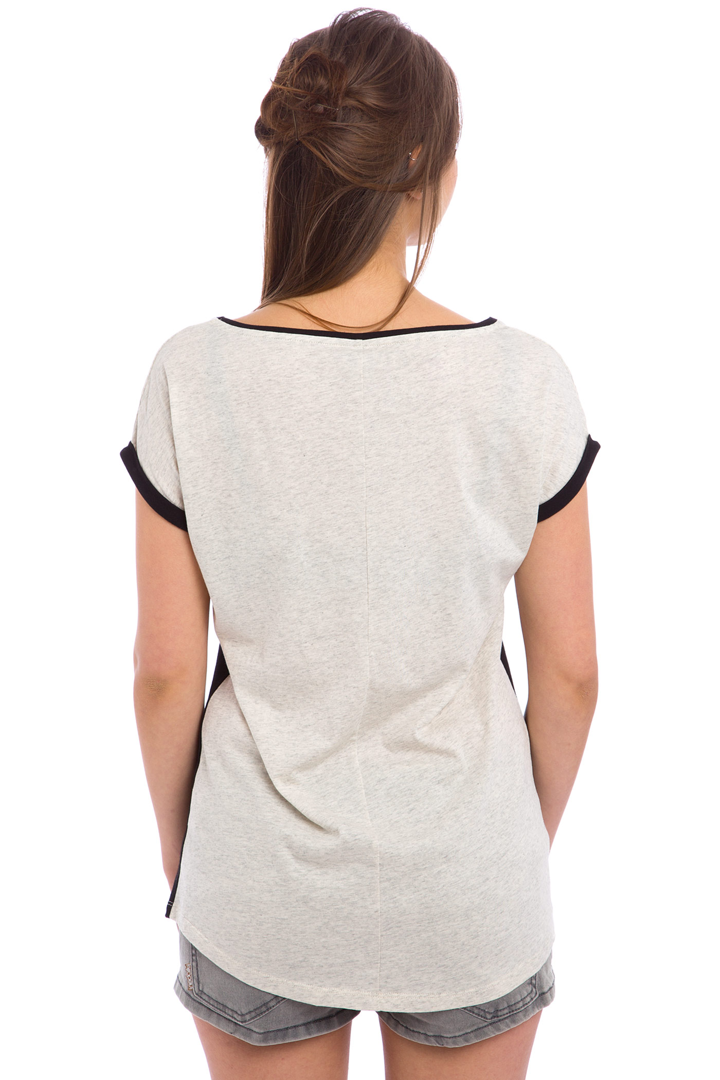 iriedaily backside t shirt women black buy at skatedeluxe. Black Bedroom Furniture Sets. Home Design Ideas