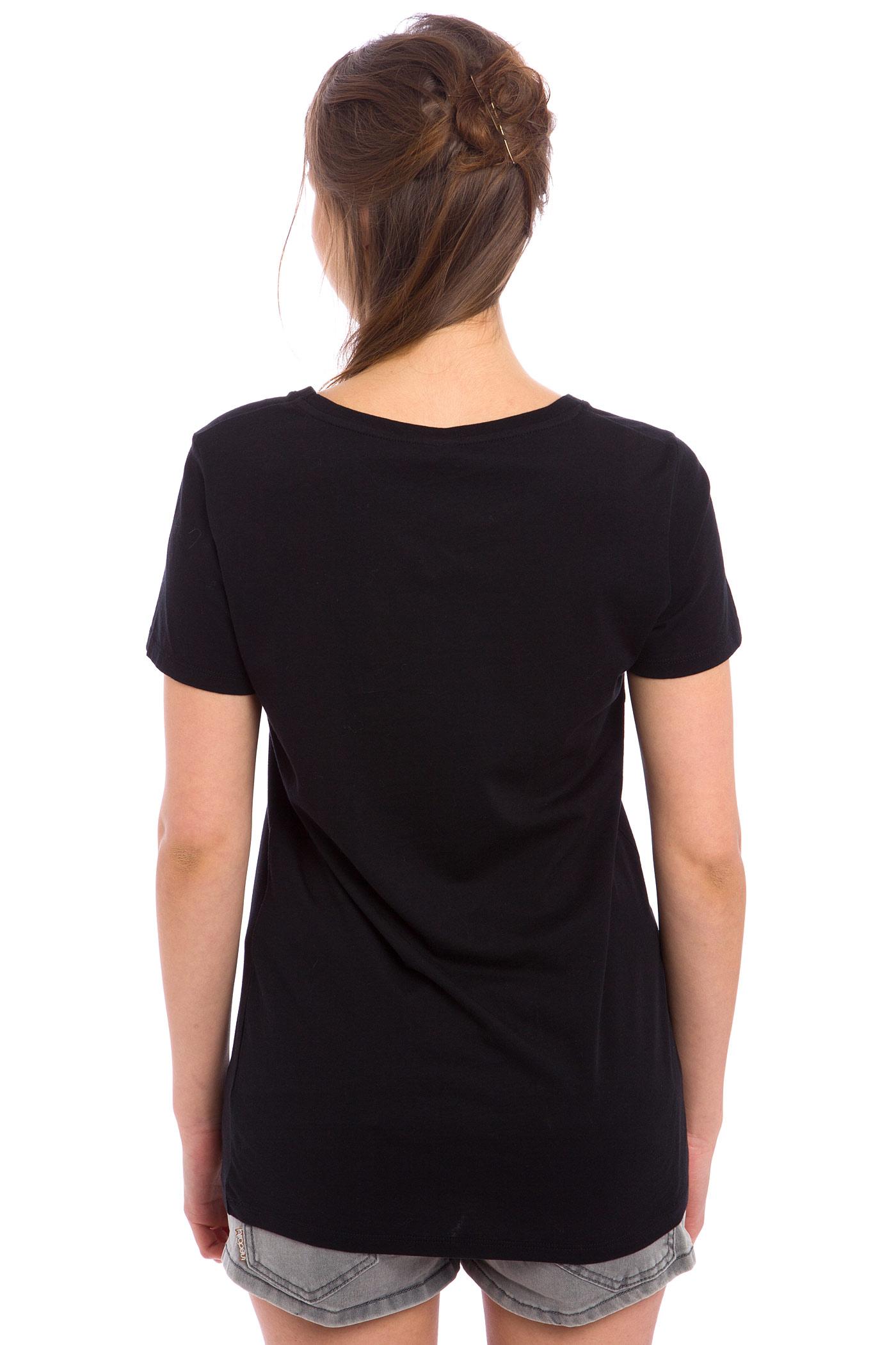 iriedaily loomy t shirt women black buy at skatedeluxe. Black Bedroom Furniture Sets. Home Design Ideas