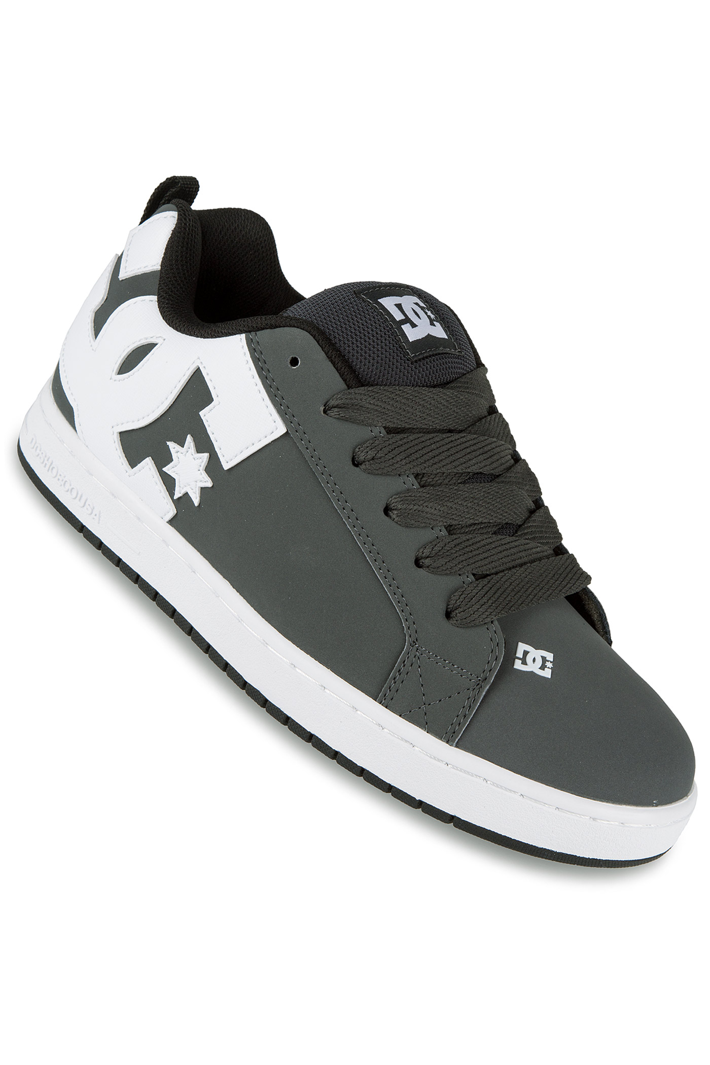 dc court graffik shoe grey white buy at skatedeluxe
