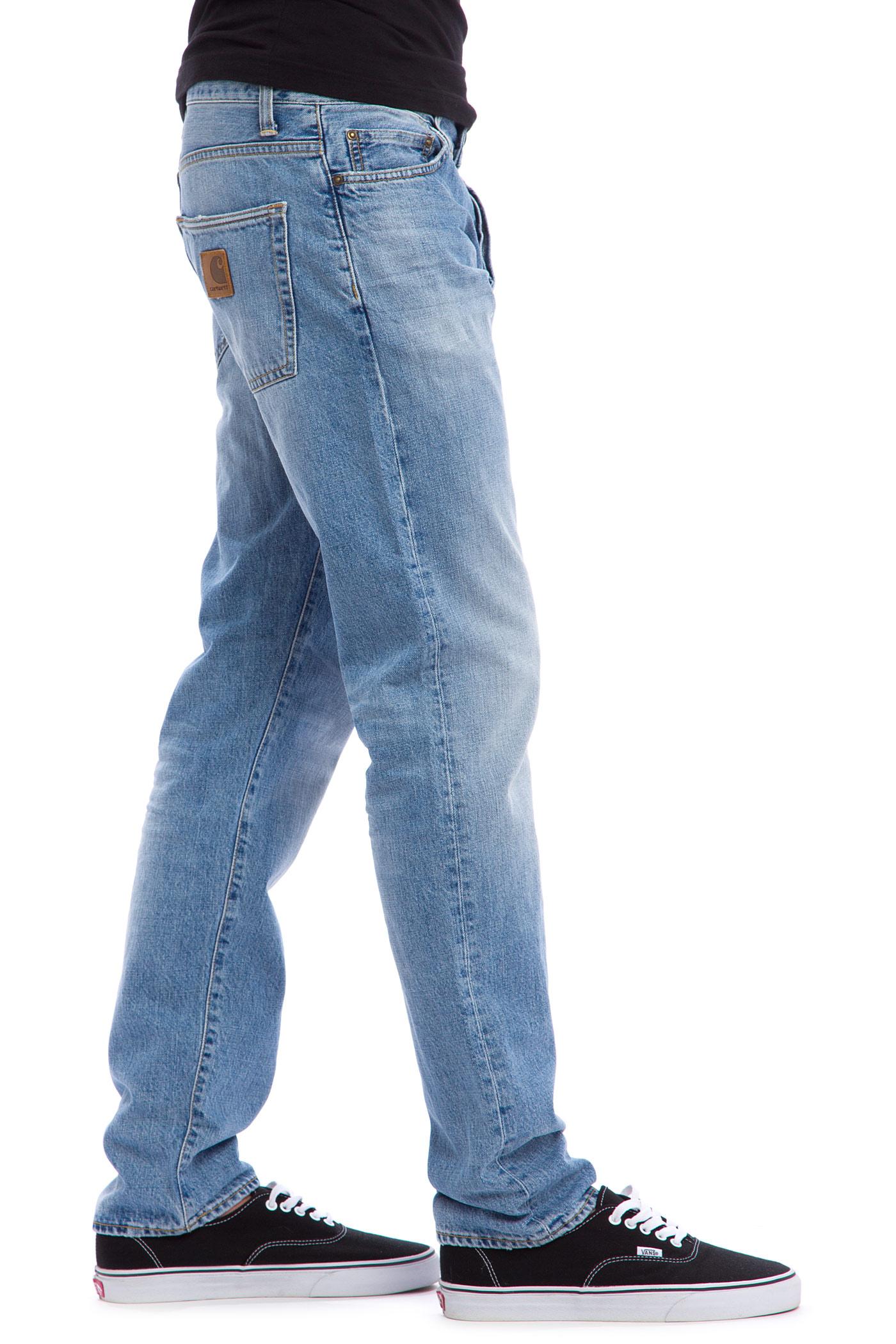 carhartt wip klondike pant edgewood jeans blue burst. Black Bedroom Furniture Sets. Home Design Ideas