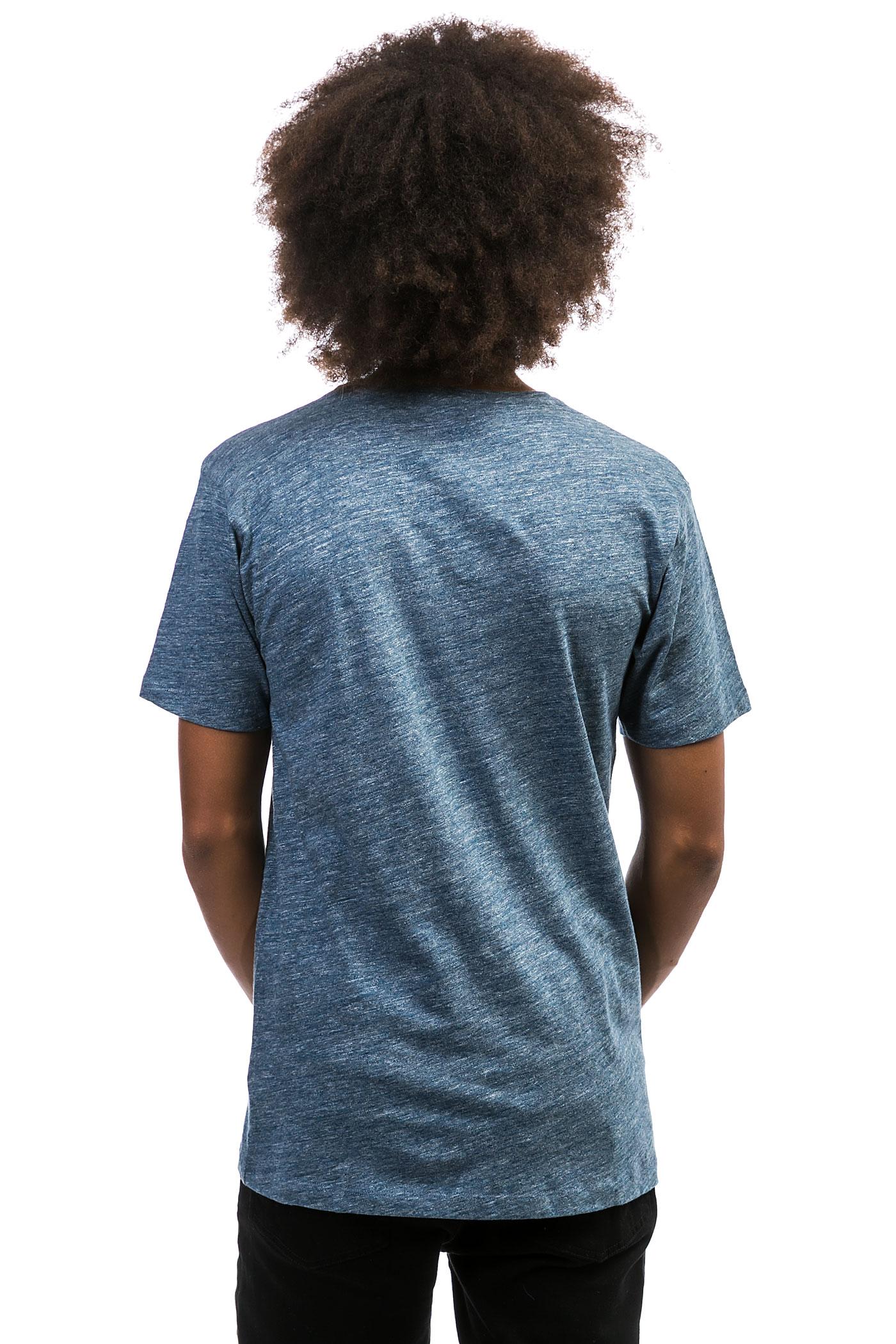 Cleptomanicx vintage print t shirt vintage blue kaufen for Vintage t shirt printing