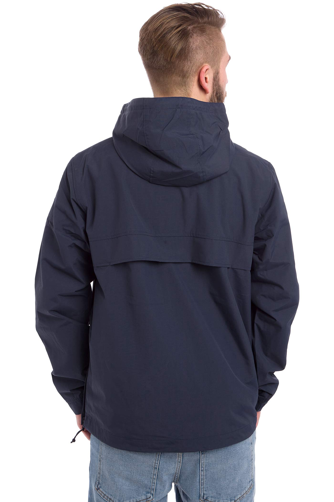 carhartt wip nimbus pullover jacket blue buy at skatedeluxe. Black Bedroom Furniture Sets. Home Design Ideas