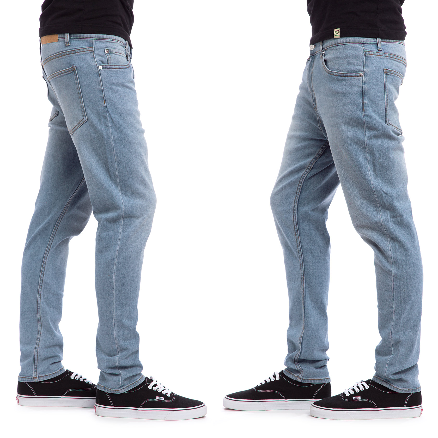 cheap monday dropped jeans stonewash blue buy at skatedeluxe. Black Bedroom Furniture Sets. Home Design Ideas