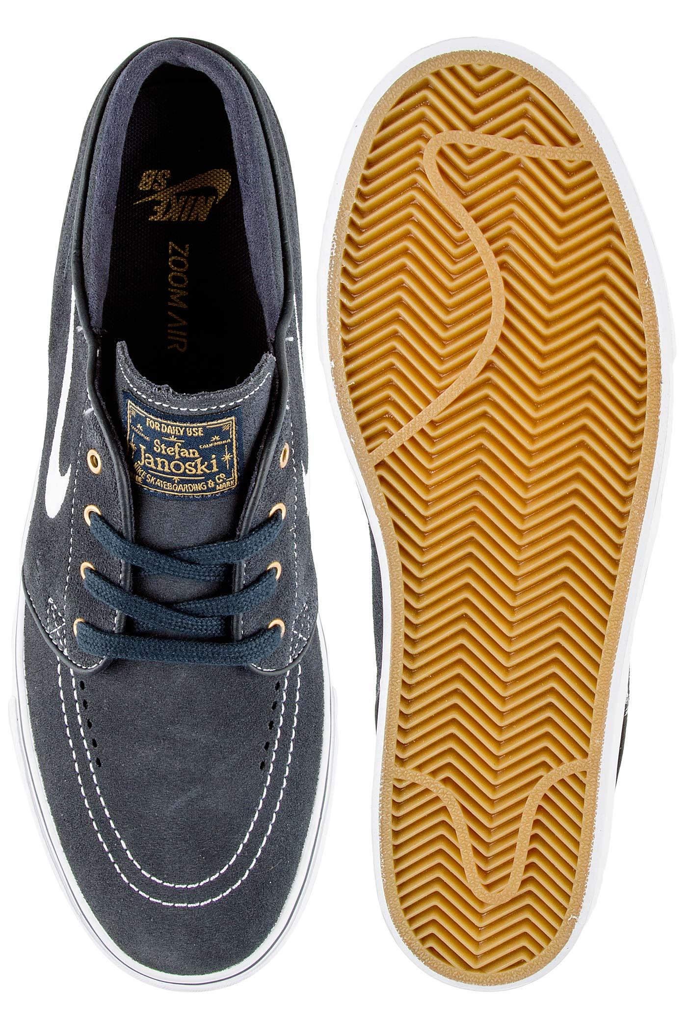 5e98ebc2f7b5fa Nike SB Zoom Stefan Janoski Shoe (dark obsidian white) buy at ...