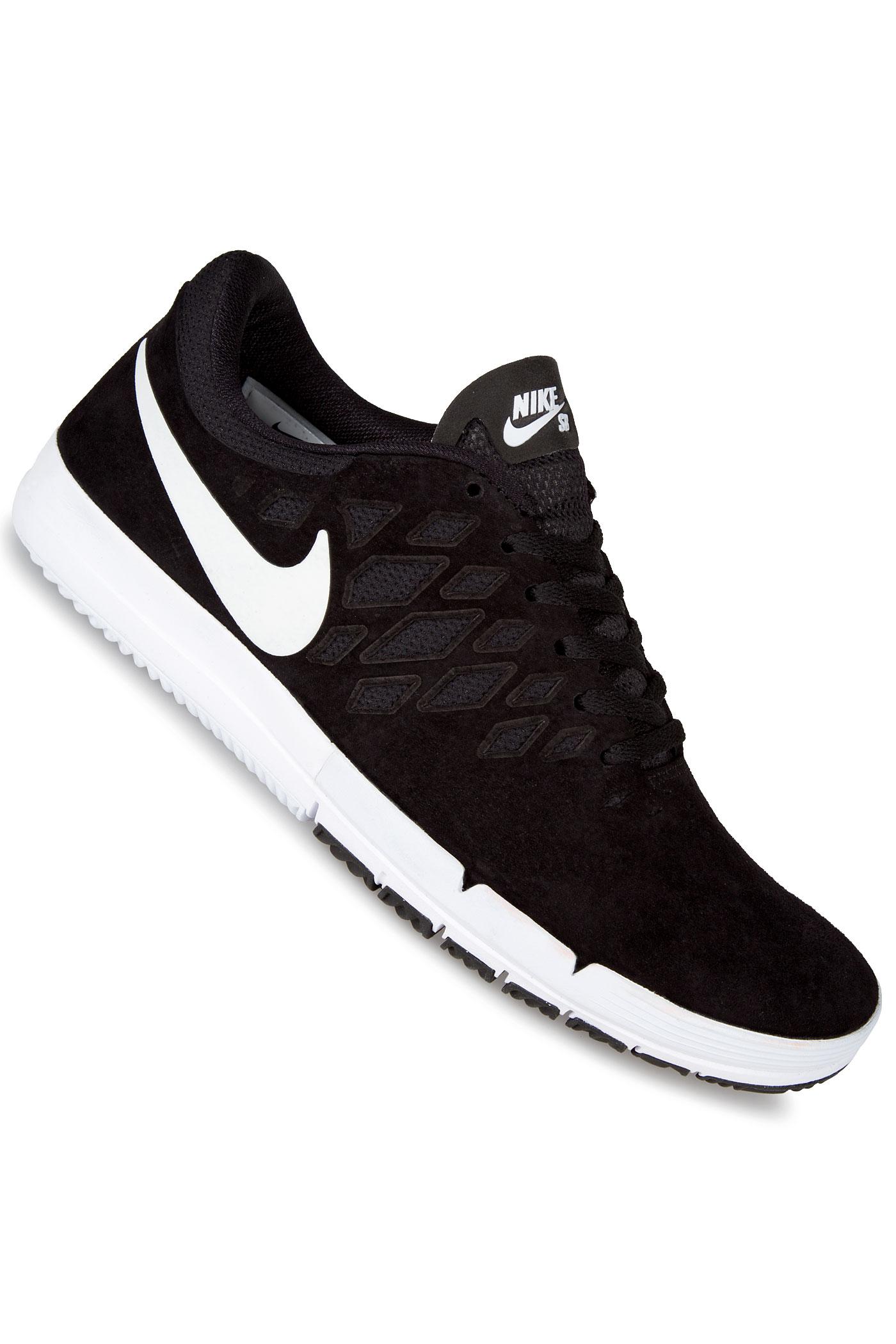 nike sb free chaussure black white black achetez sur skatedeluxe. Black Bedroom Furniture Sets. Home Design Ideas