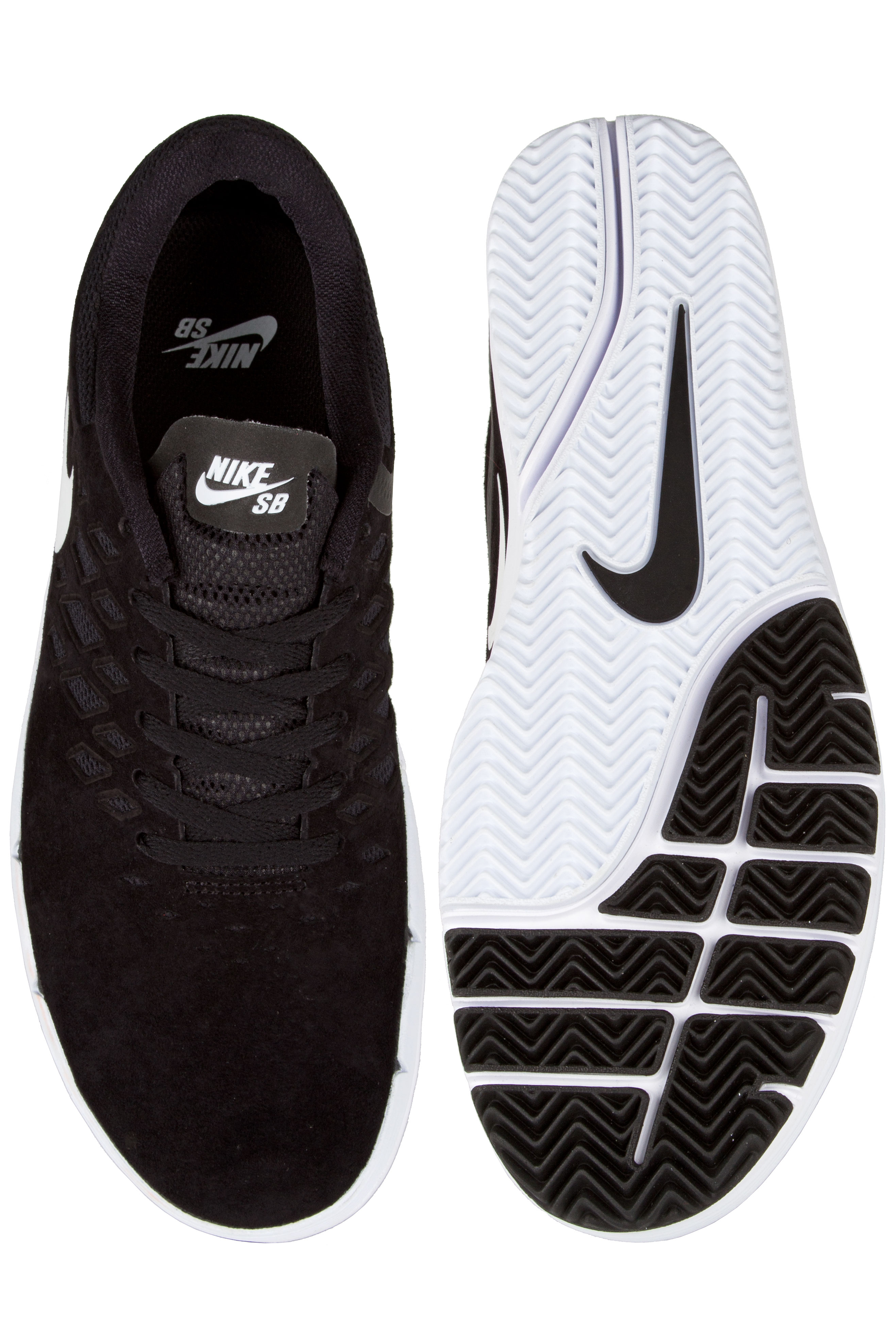 Nike SB Free Shoe (black white black)