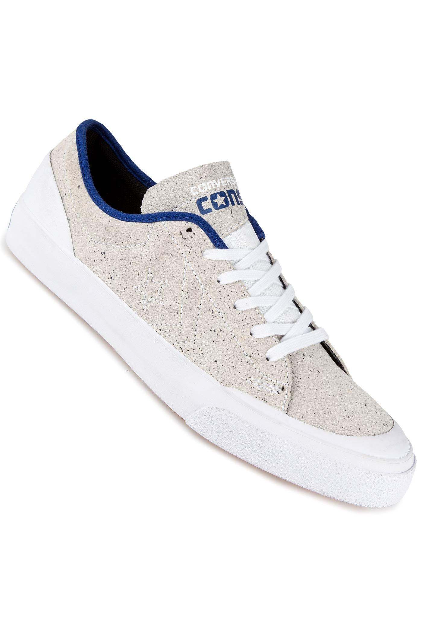 Converse shoes blue and black