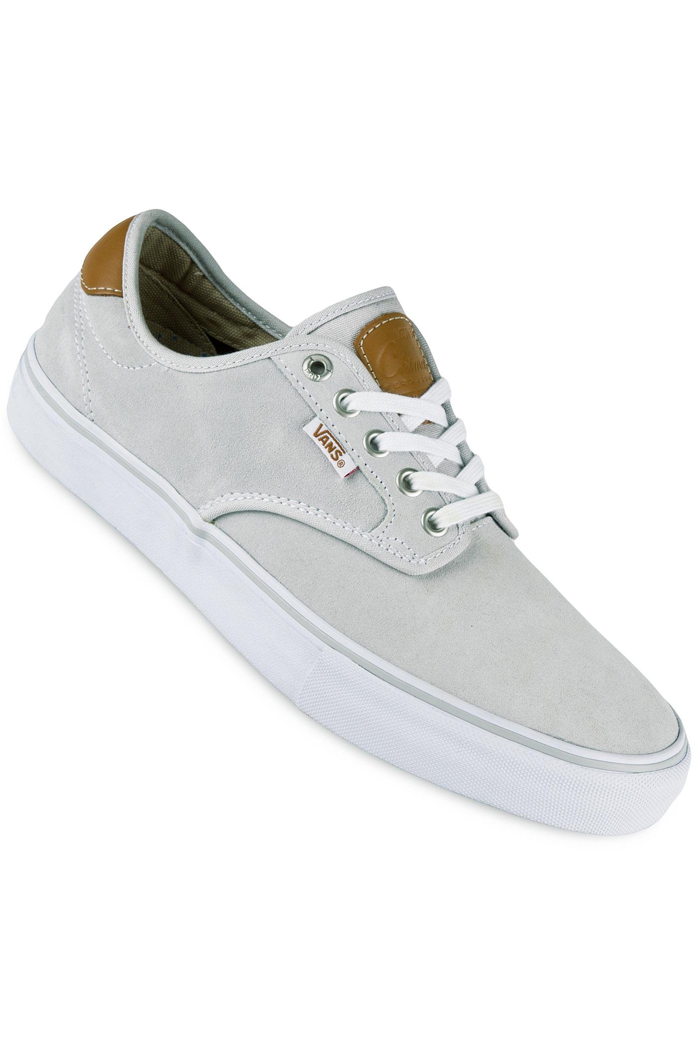 9d42d859fff Vans Chima Ferguson Pro Chaussure (light grey white) achetez sur ...