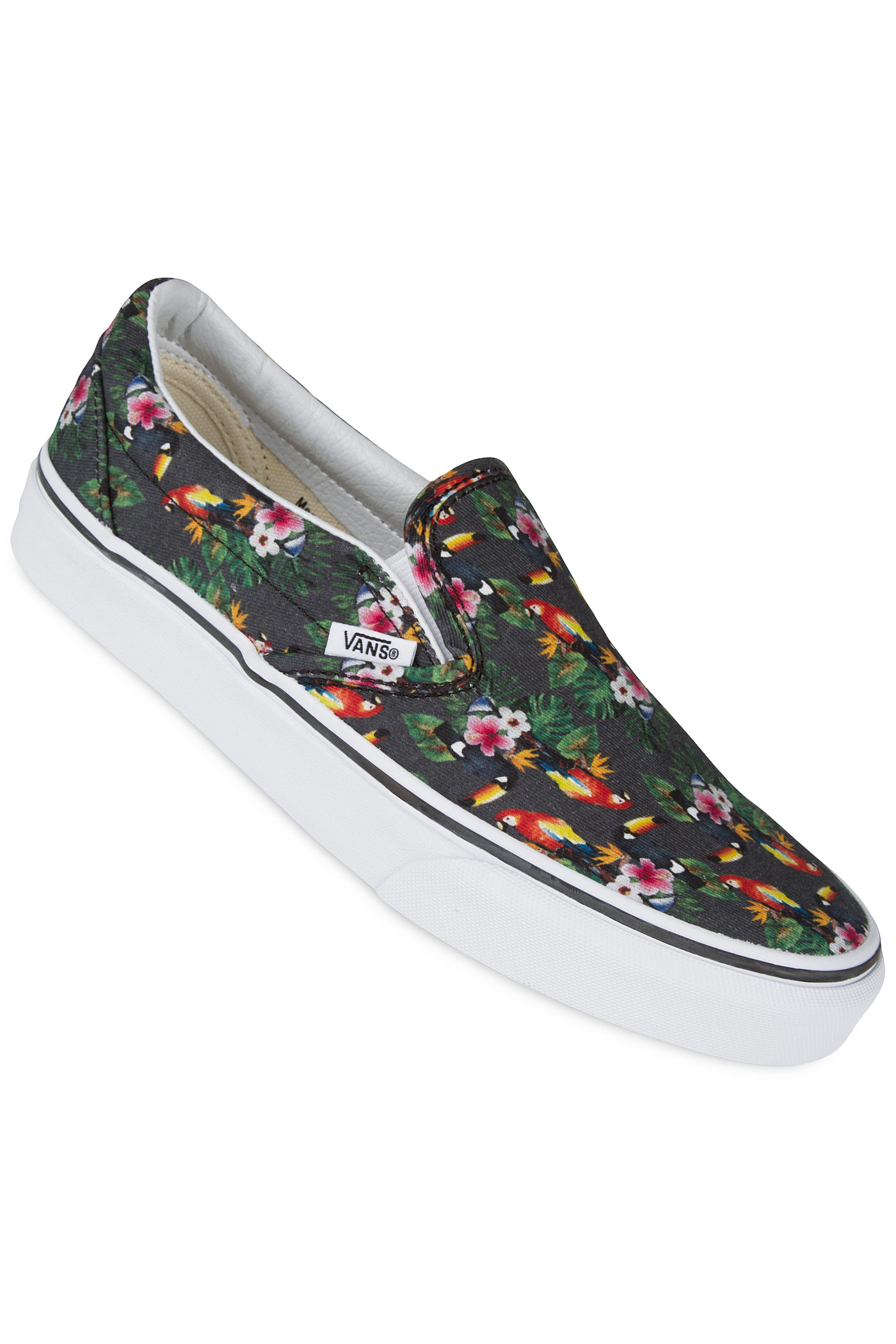 57a935cc3a0 Vans Classic Slip-On Shoe women (chambray parrot true white) buy at ...