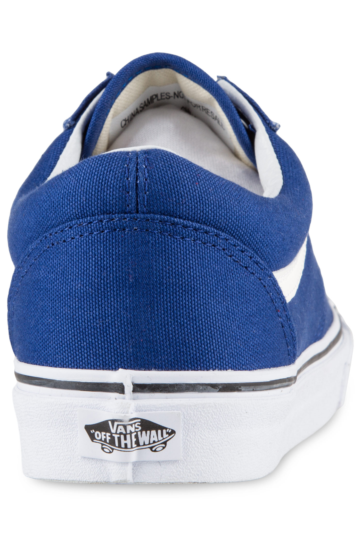 vans old skool canvas shoe true blue buy at skatedeluxe. Black Bedroom Furniture Sets. Home Design Ideas