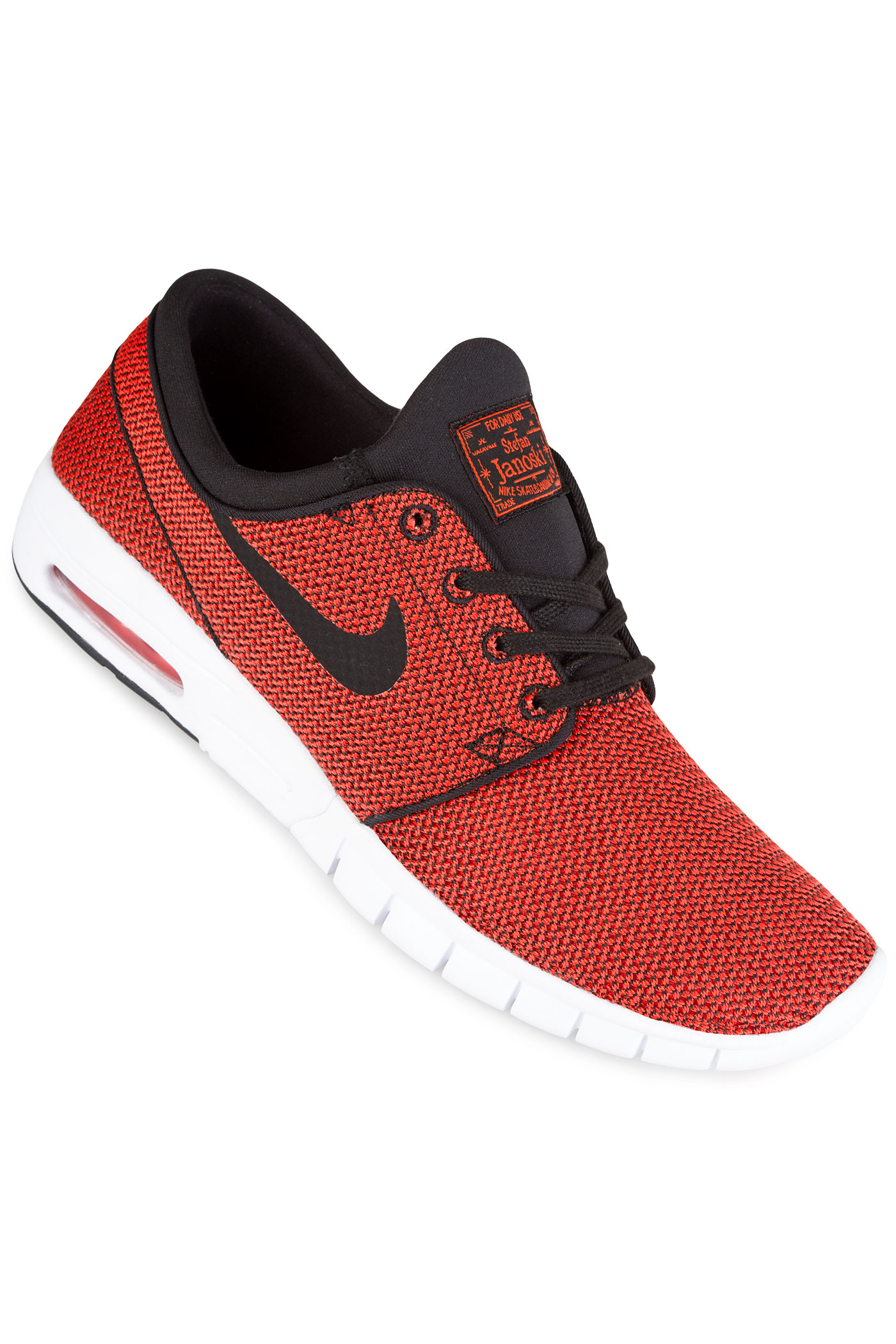 brand new 63be0 de88e ... Nike SB Stefan Janoski Max Shoes (black max orange) .