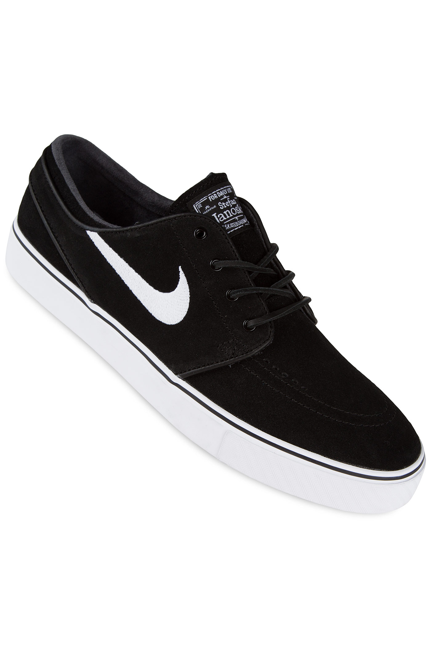 nike sb zoom stefan janoski og schuh black white gum. Black Bedroom Furniture Sets. Home Design Ideas