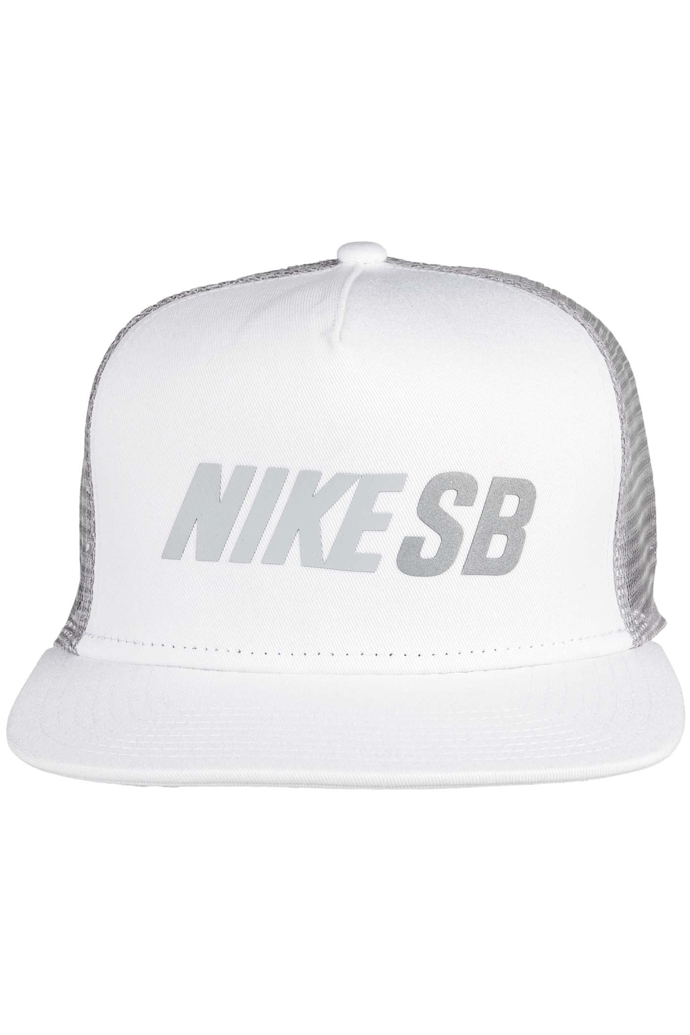 nike shox tl - Nike SB Reflect Trucker Casquette (white wolf grey) achetez sur ...