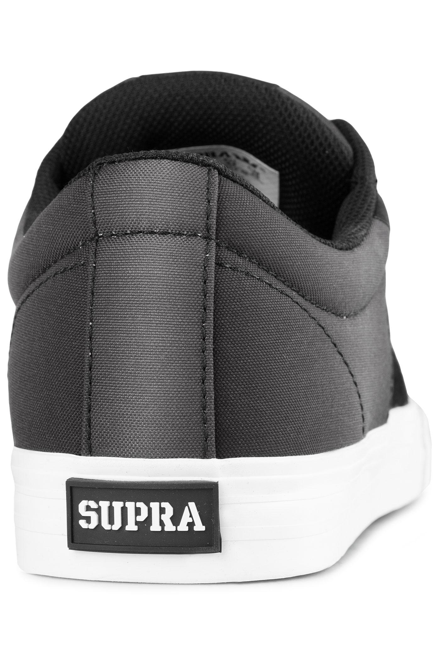 1e96aa6822d9 Supra Stacks Vulc II Shoe (black black fade white) buy at skatedeluxe