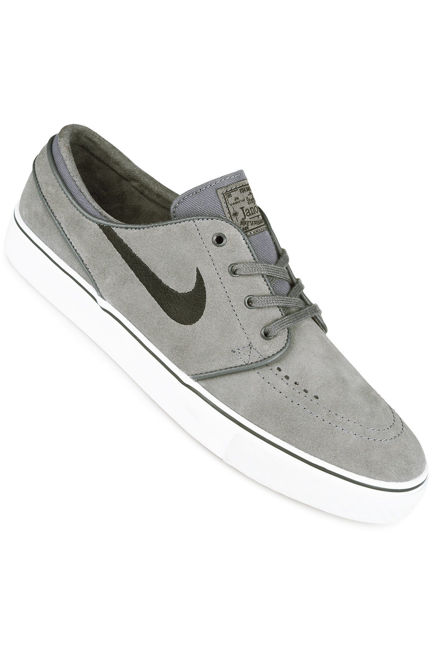 nike sb zoom stefan janoski shoes dark grey black buy at. Black Bedroom Furniture Sets. Home Design Ideas