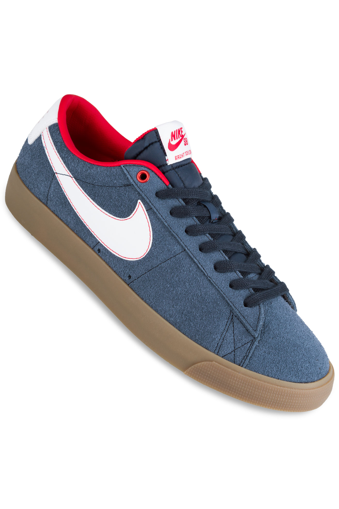 nike sb blazer low grant taylor shoes obsidian white buy. Black Bedroom Furniture Sets. Home Design Ideas