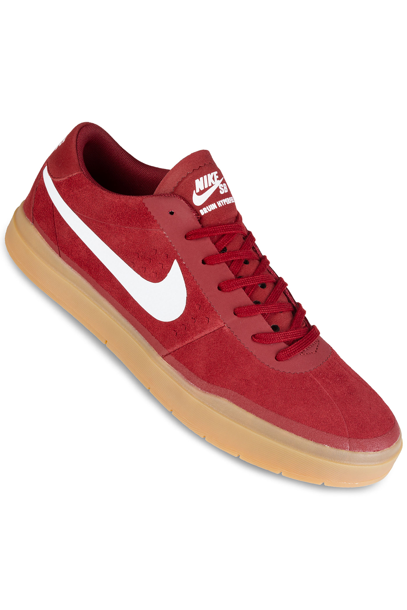 nike sb bruin hyperfeel shoes dark cayenne white buy at. Black Bedroom Furniture Sets. Home Design Ideas