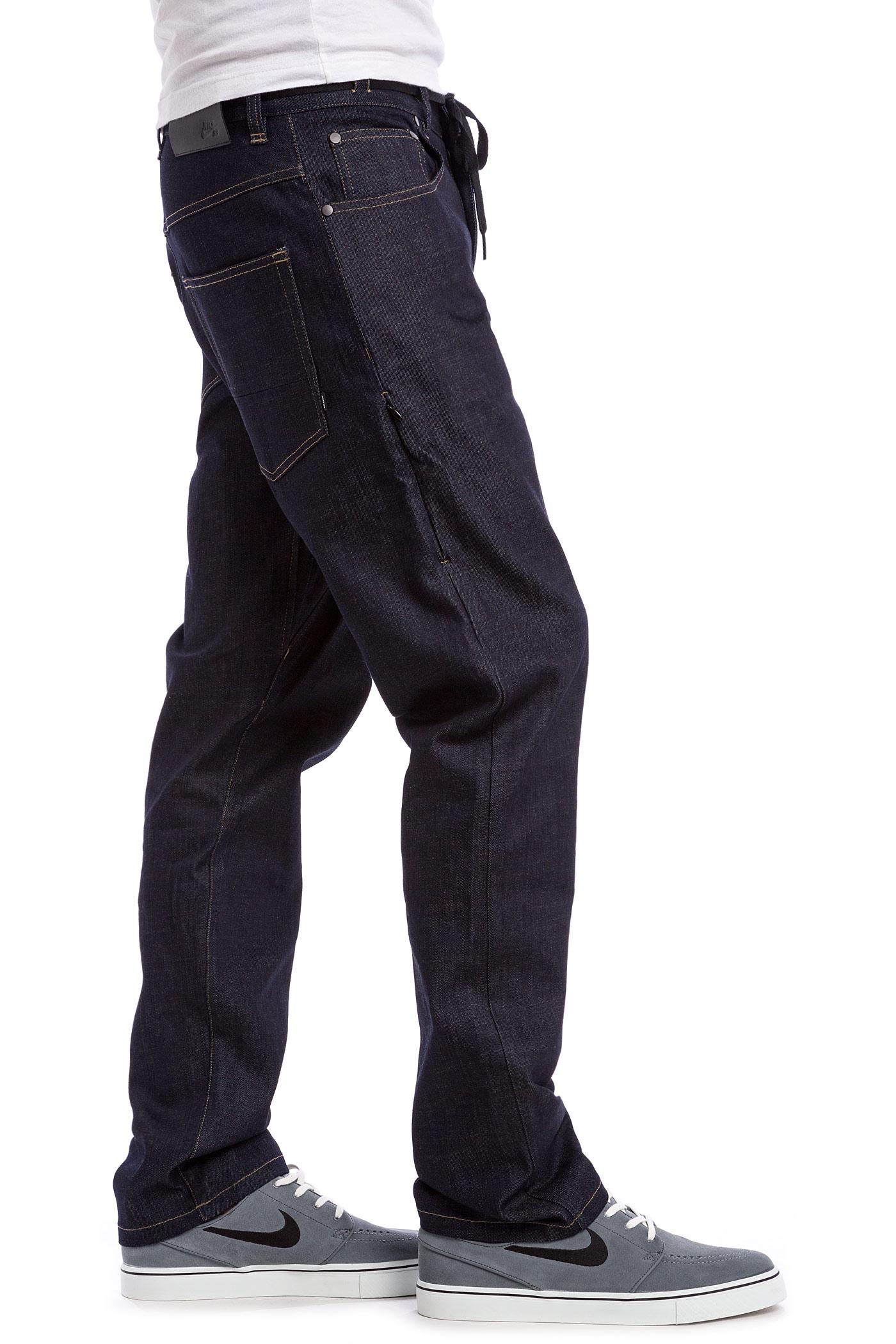 Nike SB FTM Blue Denim 5-Pocket Jeans (dark obsidian) buy at skatedeluxe 36c1e95ec6a0