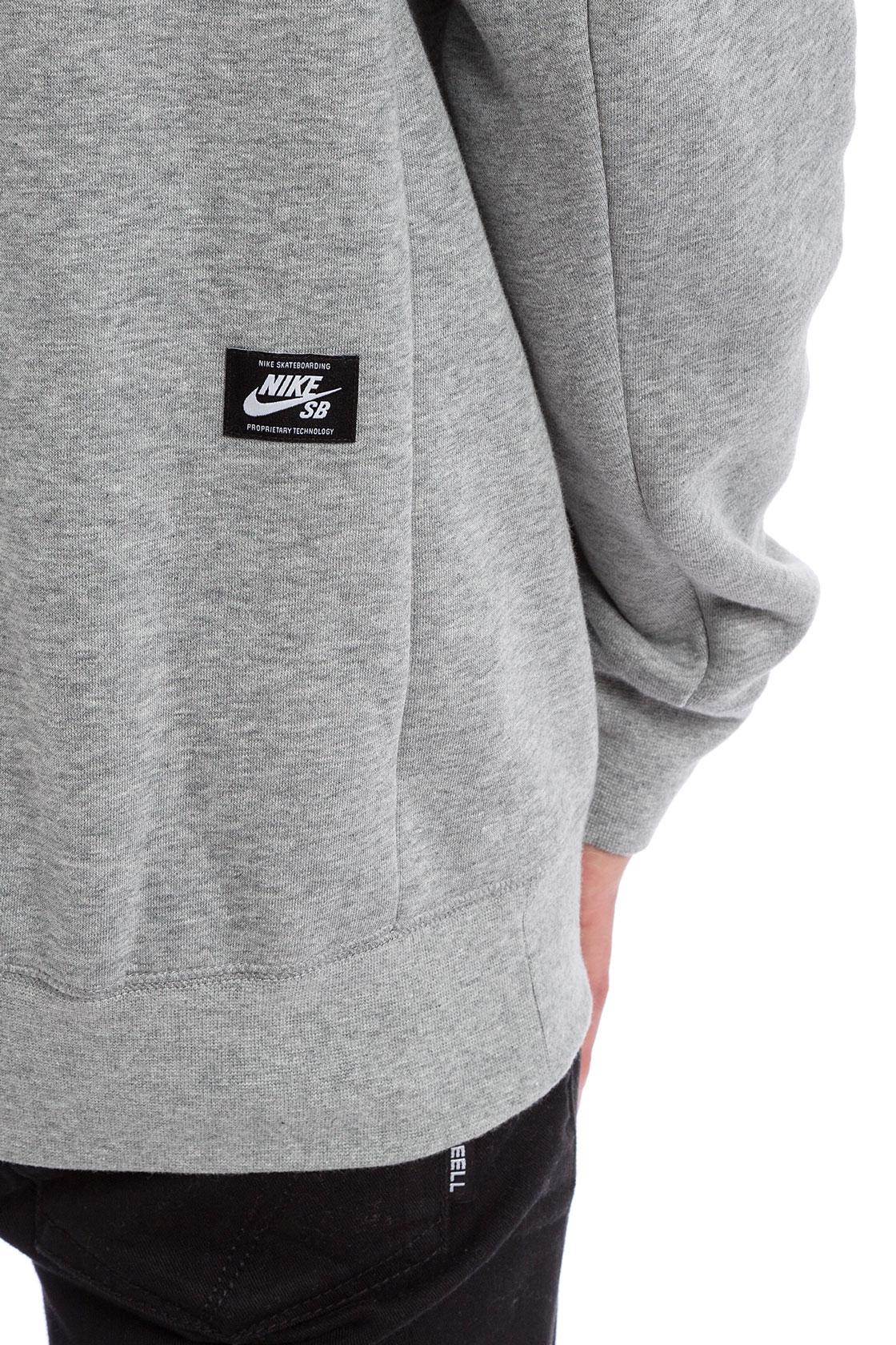 nike vandale arbre de lacrosse - Nike SB Icon Dots Hoodie (dark grey heather black) buy at skatedeluxe