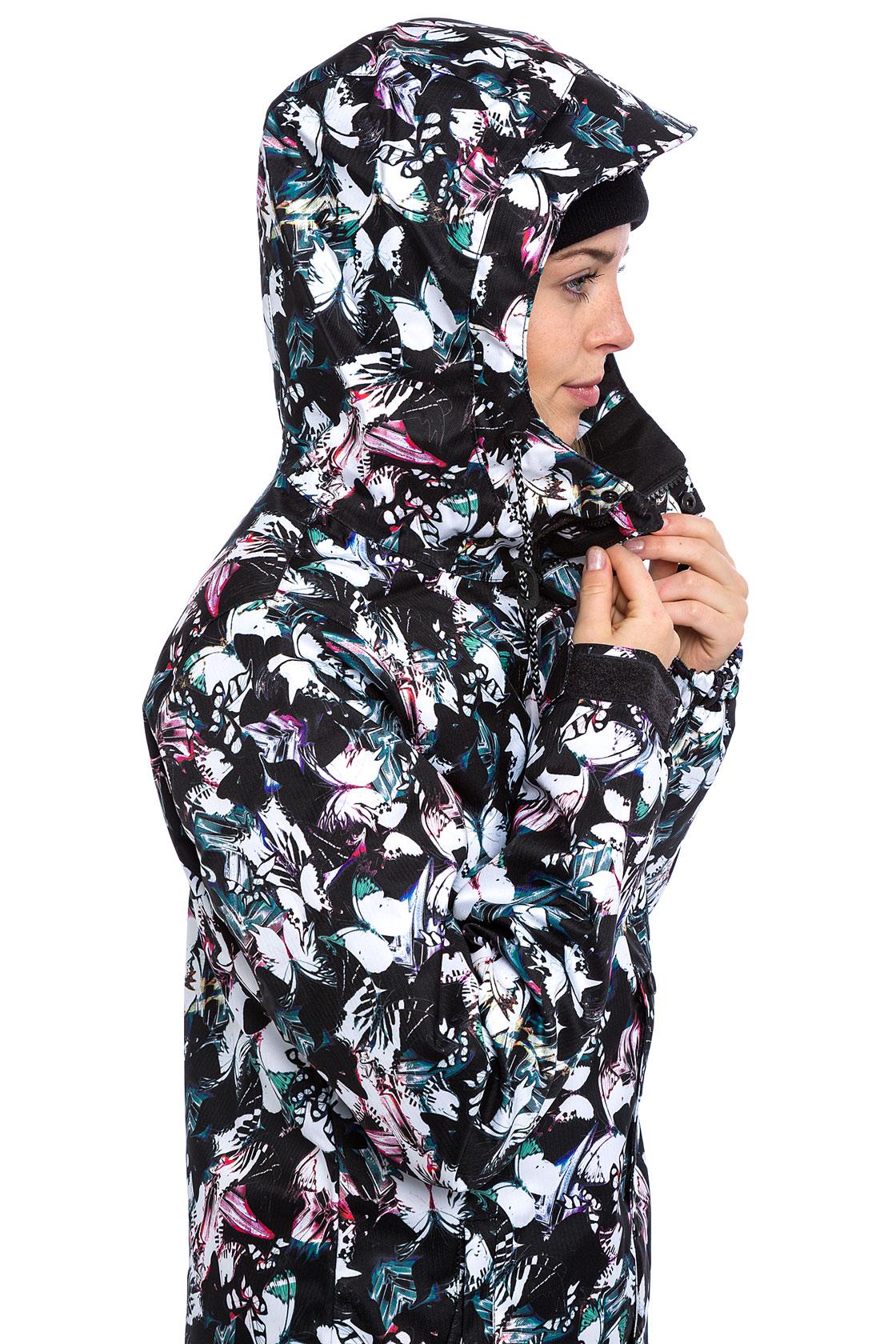 Volcom Bolt Insulated Snowboard Jacket Women Multi Buy At Skatedeluxe