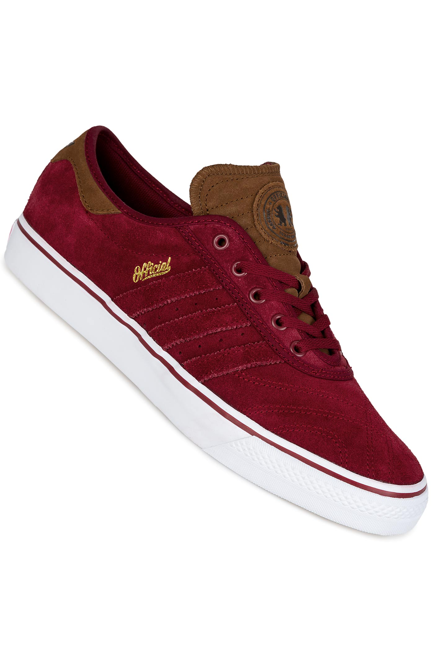 official photos 0086b 9f733 adidas Skateboarding x Official Adi Ease Premiere ADV Shoe (burgundy white)