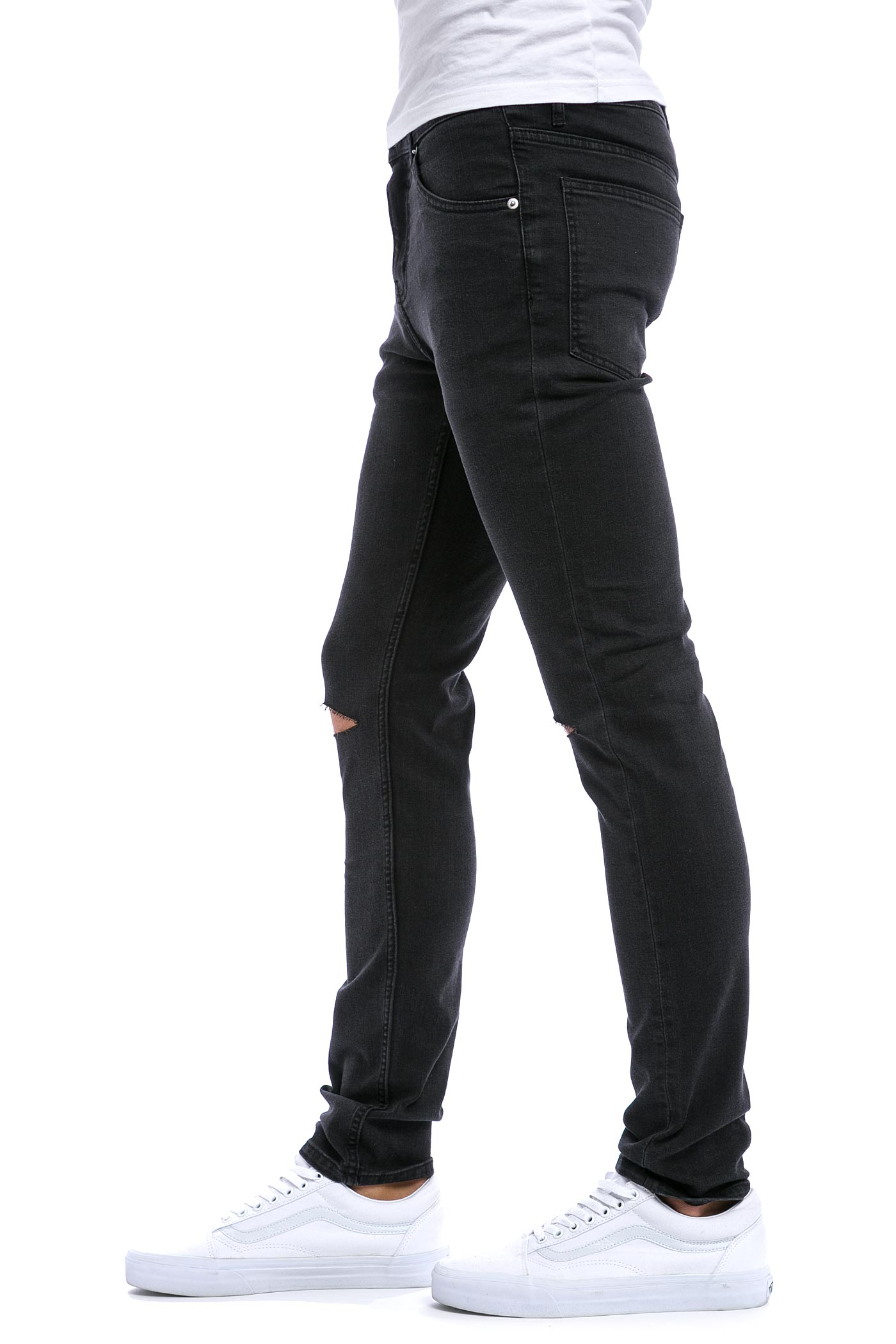Cheap Monday Tight Jeans (cut grey) buy at skatedeluxe