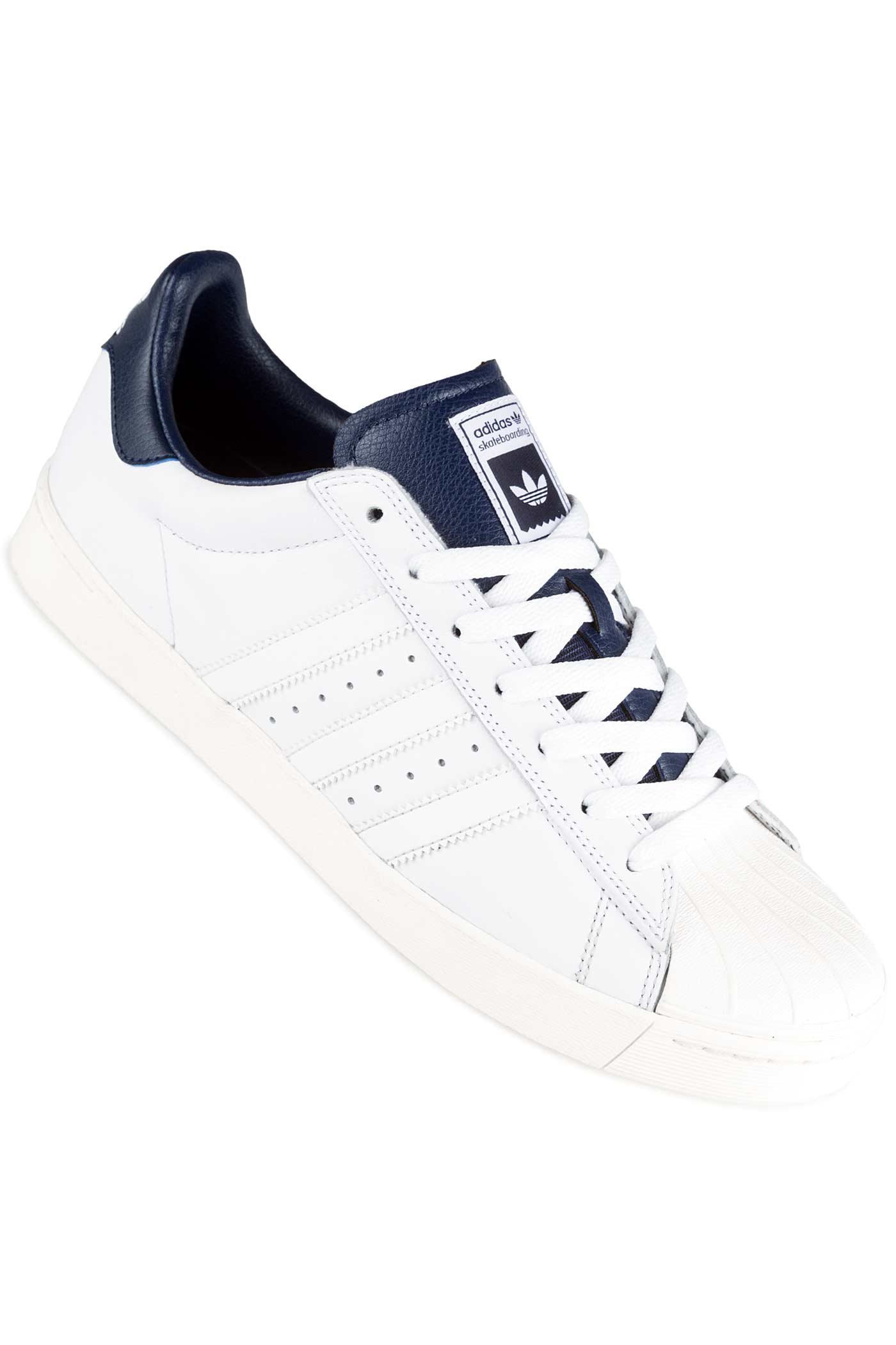 adidas superstar vulc adv schuh white white navy kaufen. Black Bedroom Furniture Sets. Home Design Ideas