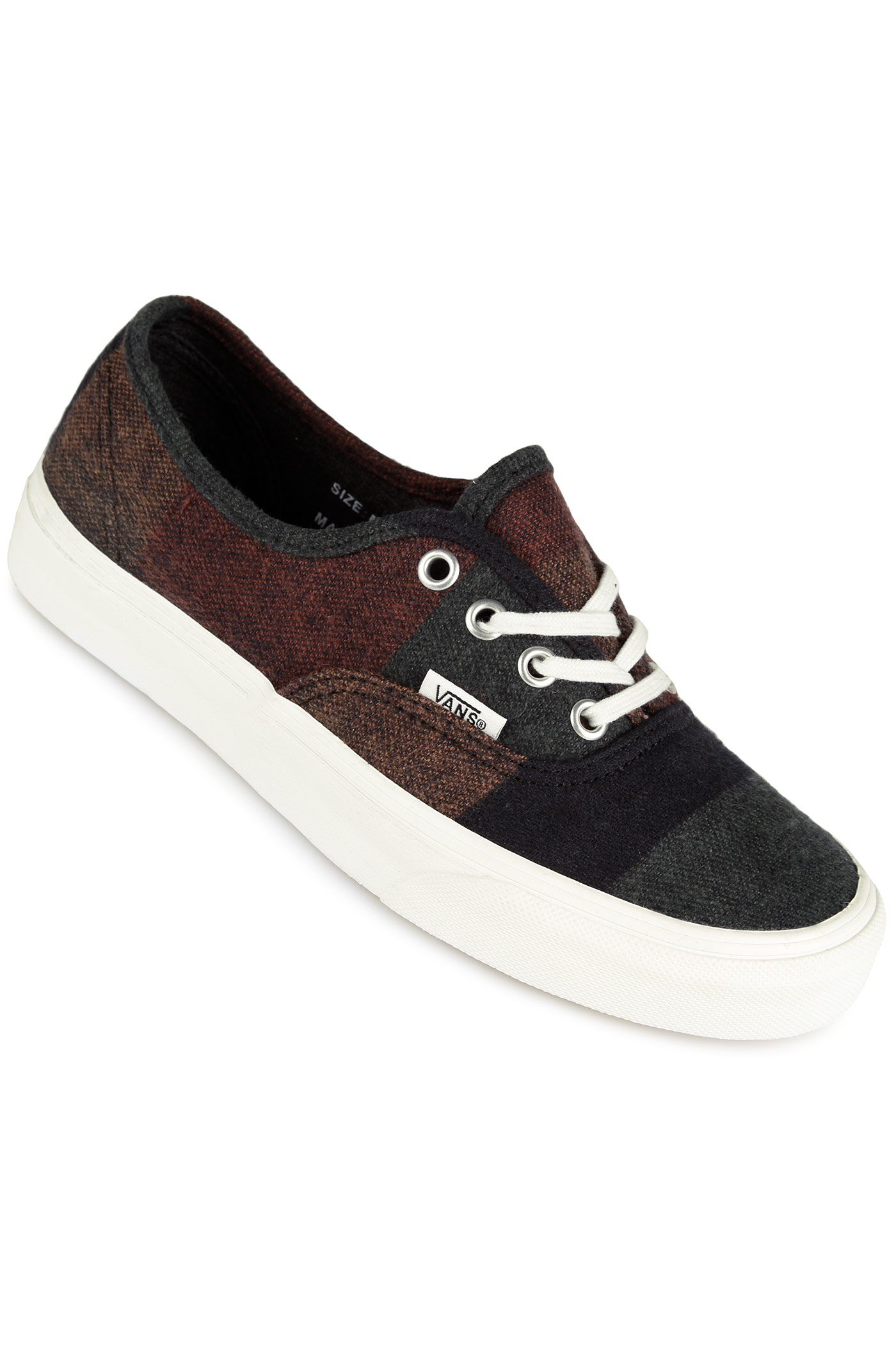 Vans Authentic Shoes women (wool stripes multi blanc) buy ...